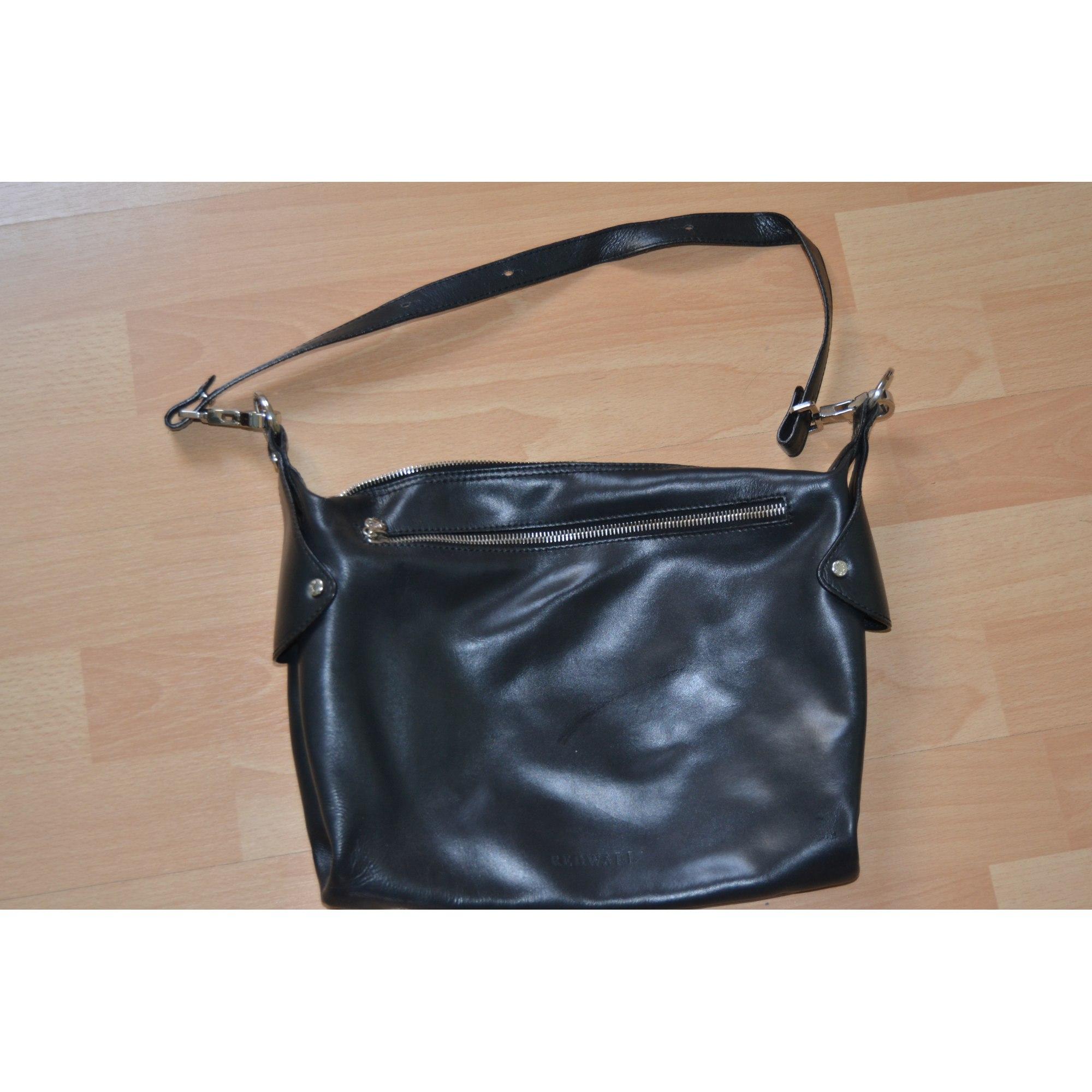 60d1fbeb59 Sac en bandoulière en cuir REDWALL noir vendu par Caroline 1420997