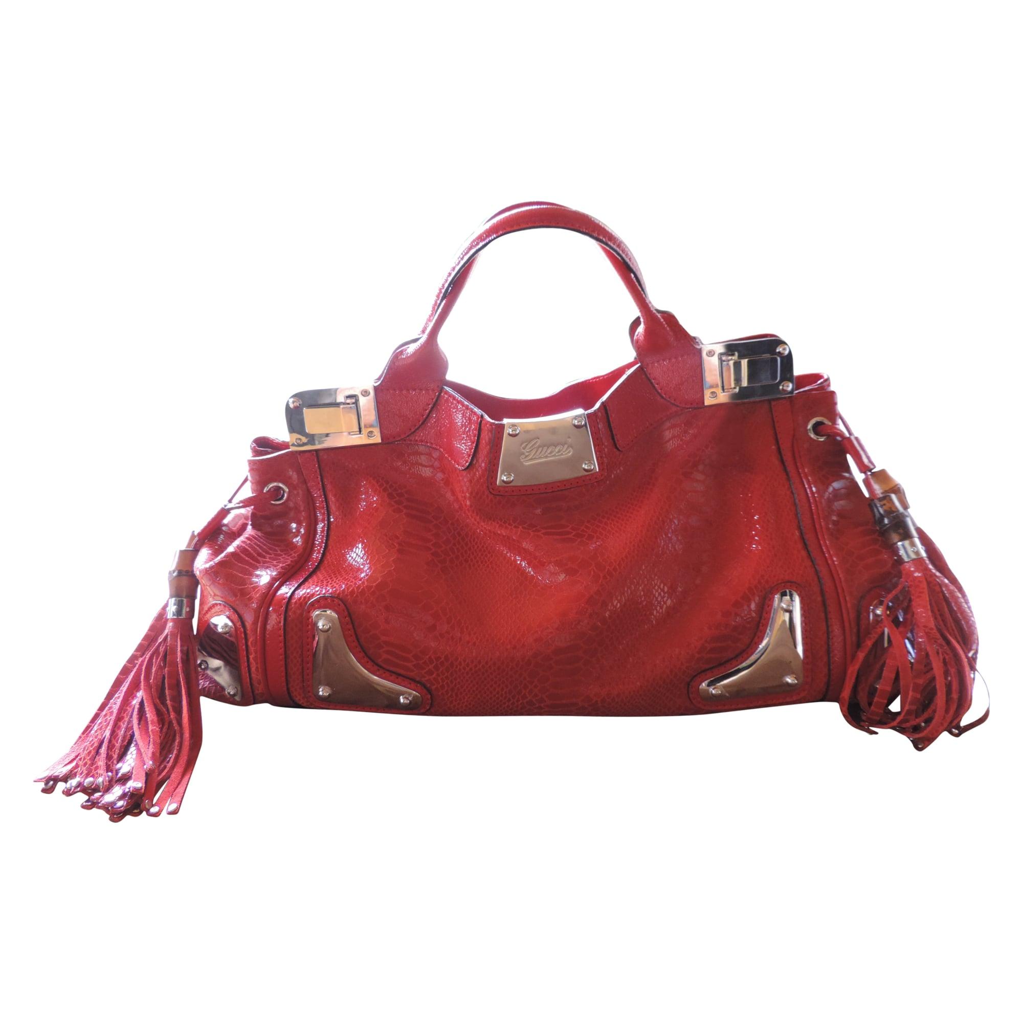 Sac à main en cuir GUCCI rouge vendu par J aimetiffany - 2625325 540a173adb6