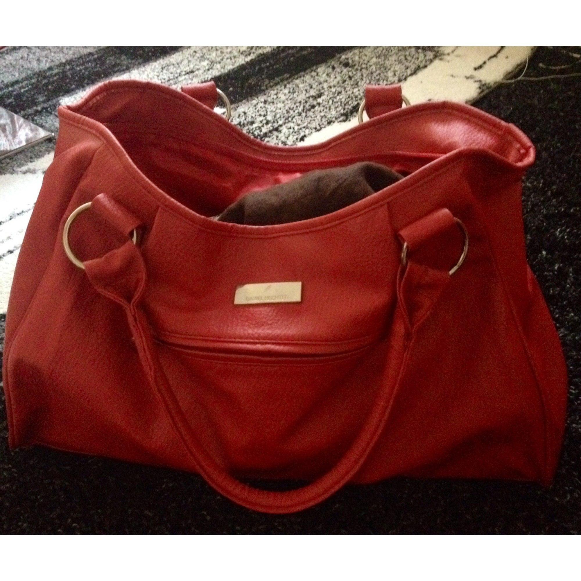 the latest 7e3b7 c9b5e Leather Handbag DANIEL HECHTER