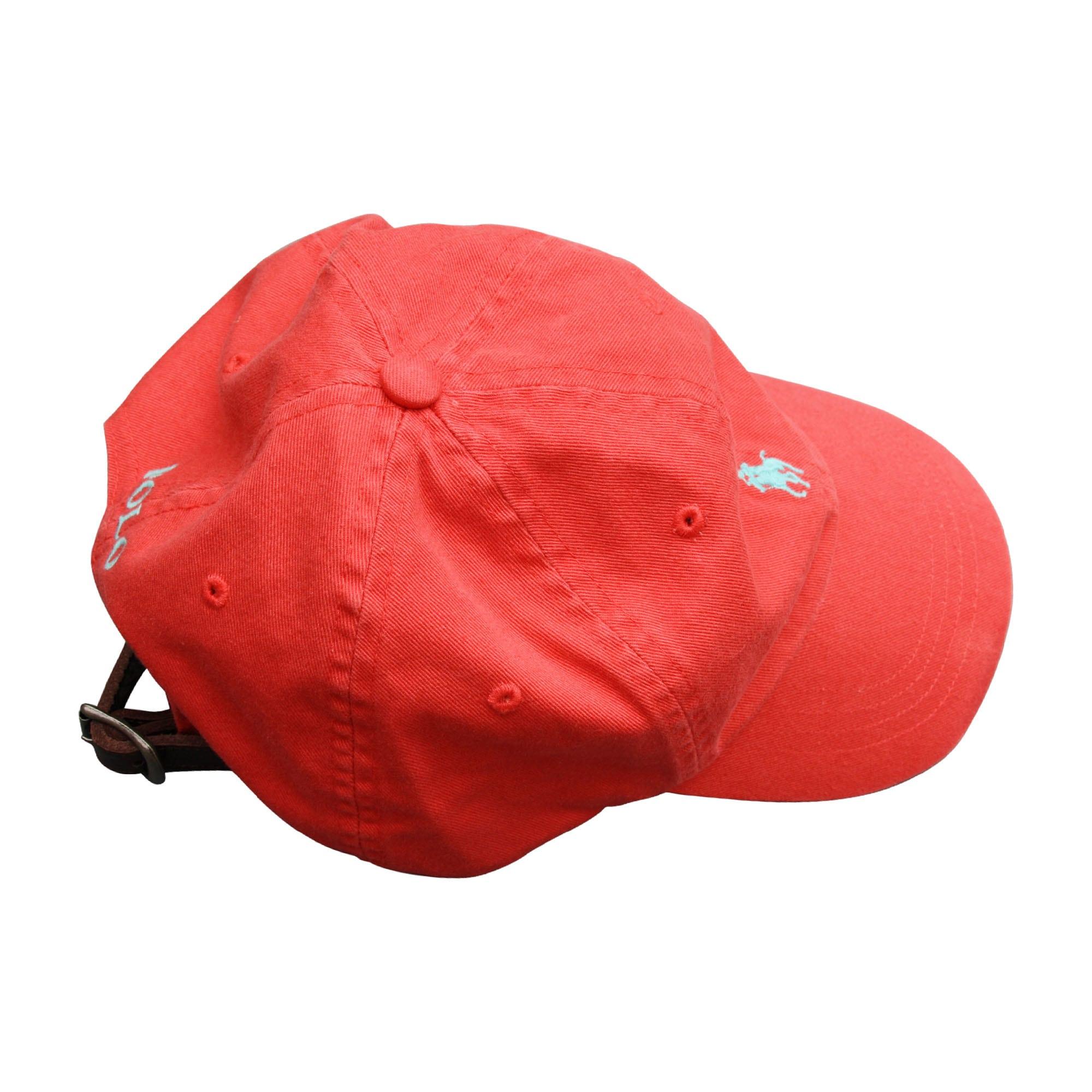 casquette ralph lauren 9 10 ans rouge vendu par flora. Black Bedroom Furniture Sets. Home Design Ideas