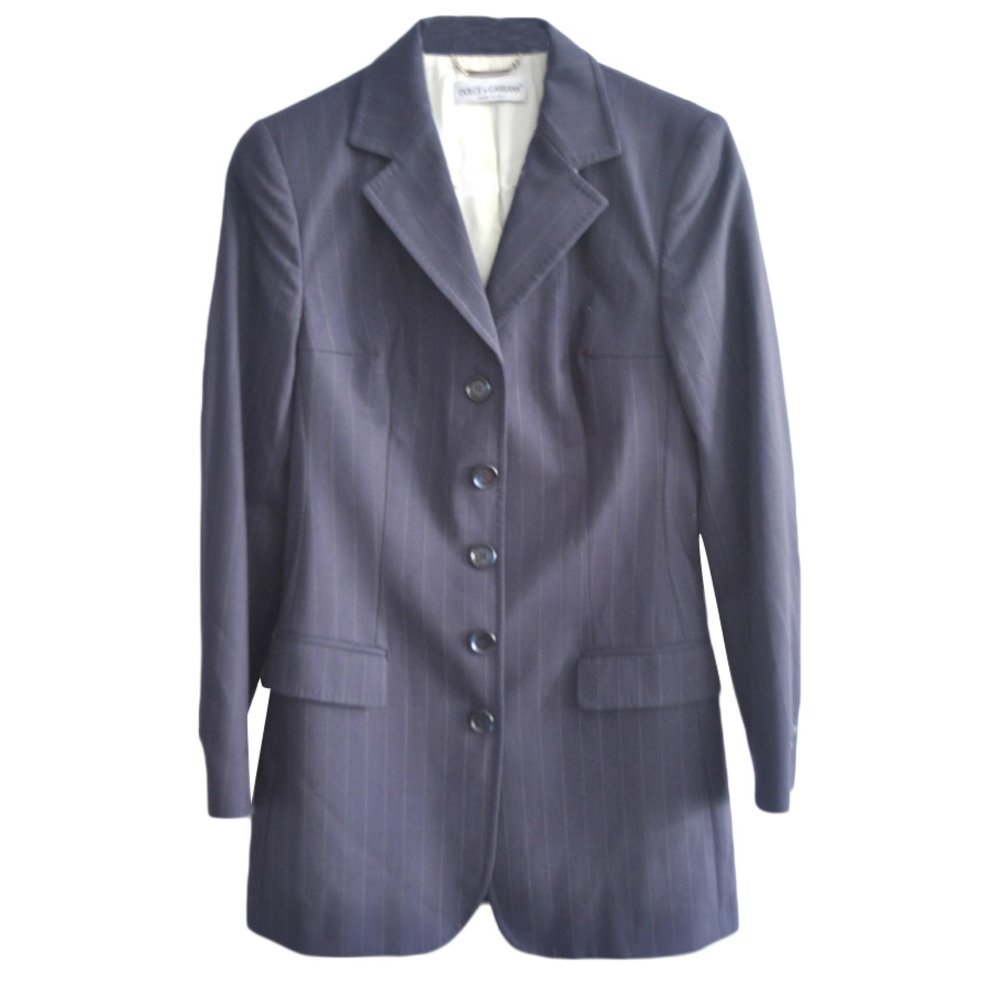 Blazer DOLCE & GABBANA Blue, navy, turquoise