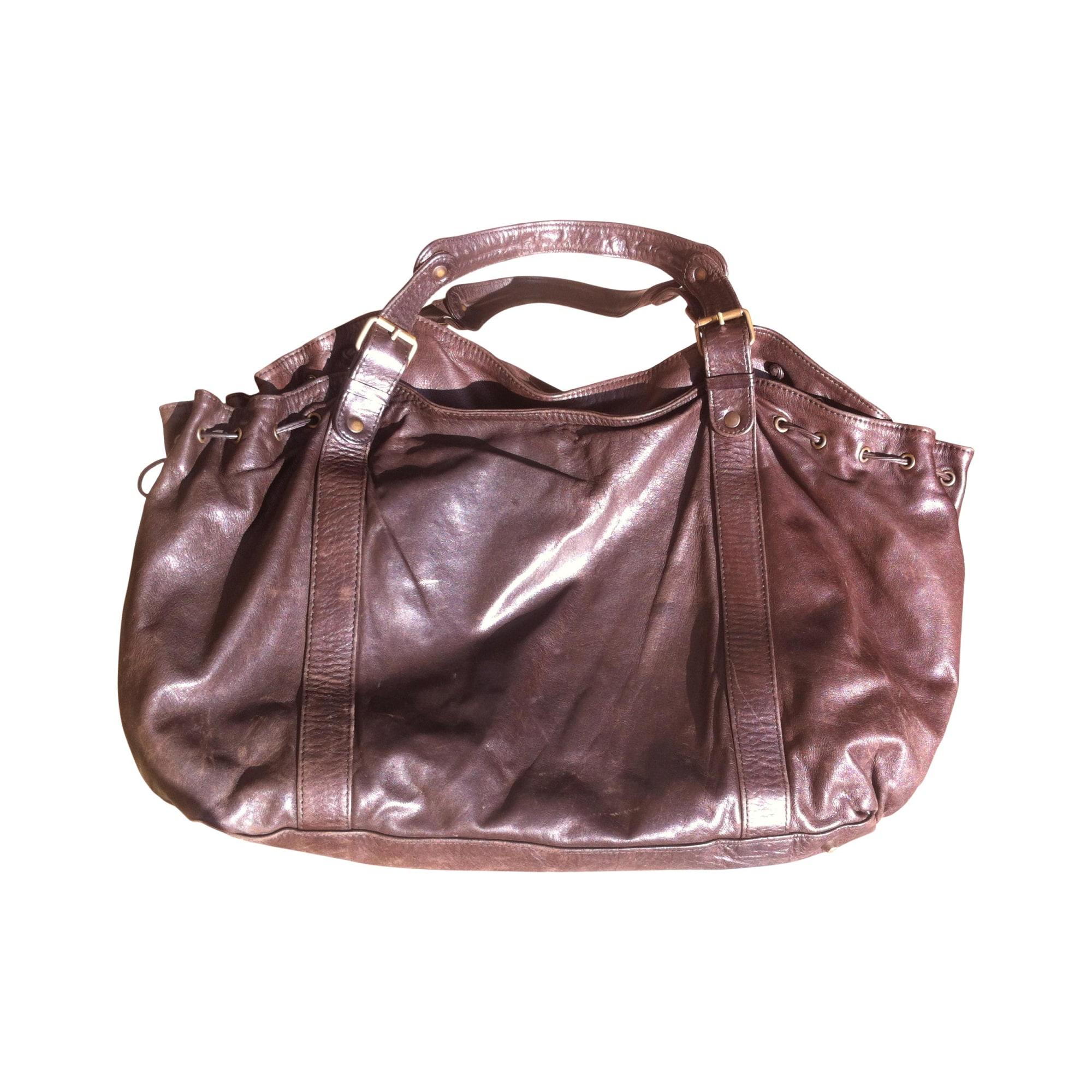 887ebb265071 Sac XL en cuir GERARD DAREL marron vendu par Capucine246 - 2664011