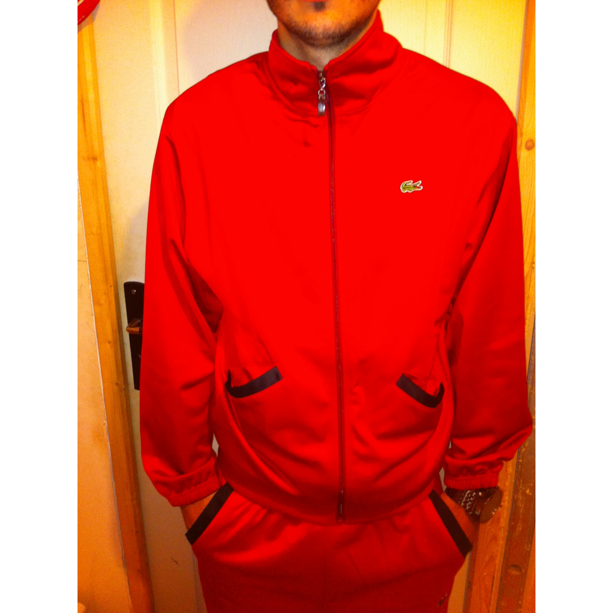 5fd0812f969 Ensemble jogging LACOSTE 52 (L) rouge - 2676115