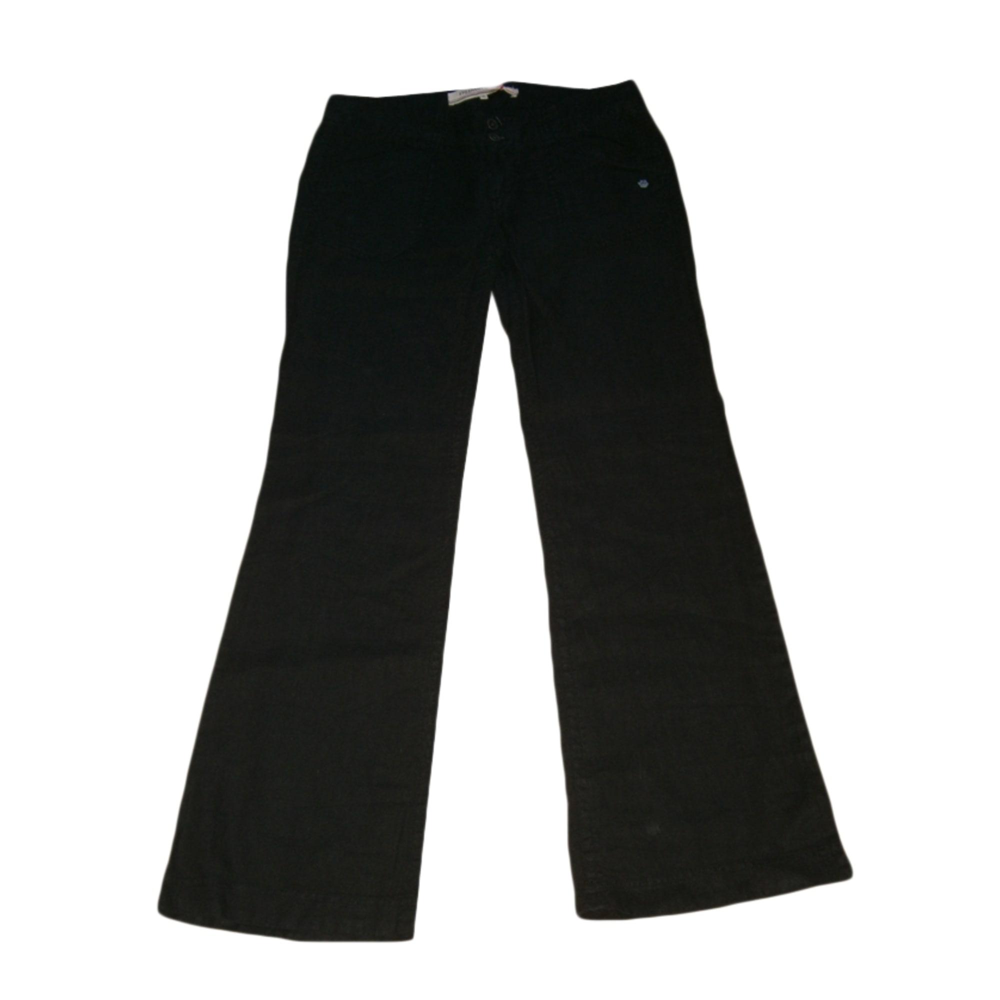 Pantalon évasé FREEMAN T PORTER Autre noir - 2717031 220d51cdd79