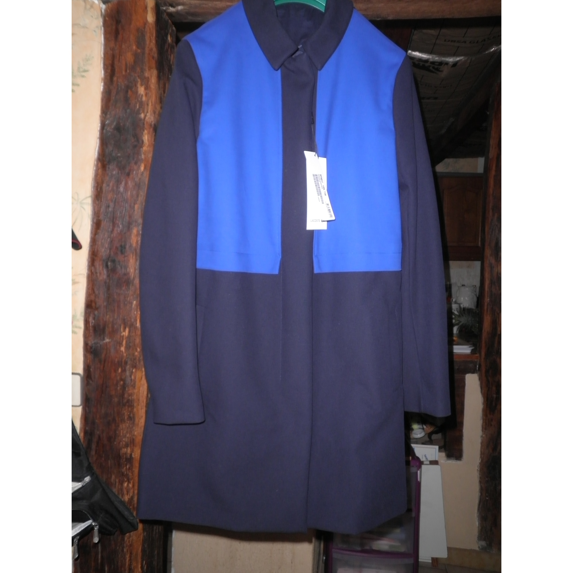 8844412c68 Manteau LACOSTE Bleu, bleu marine, bleu turquoise