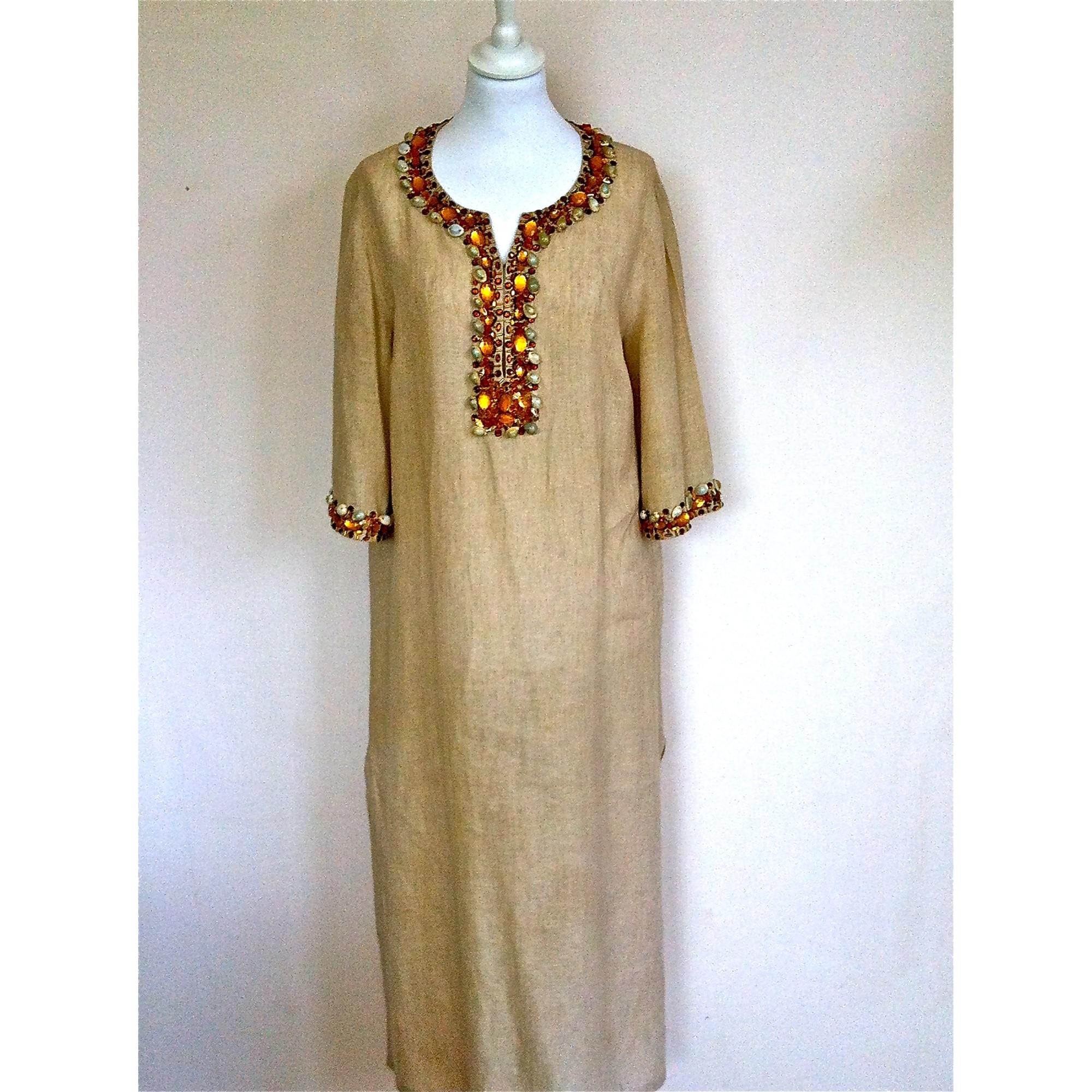 2cd0938860 Kaftan Dress LUISA SPAGNOLI 38 (M, T2) beige - 2729170