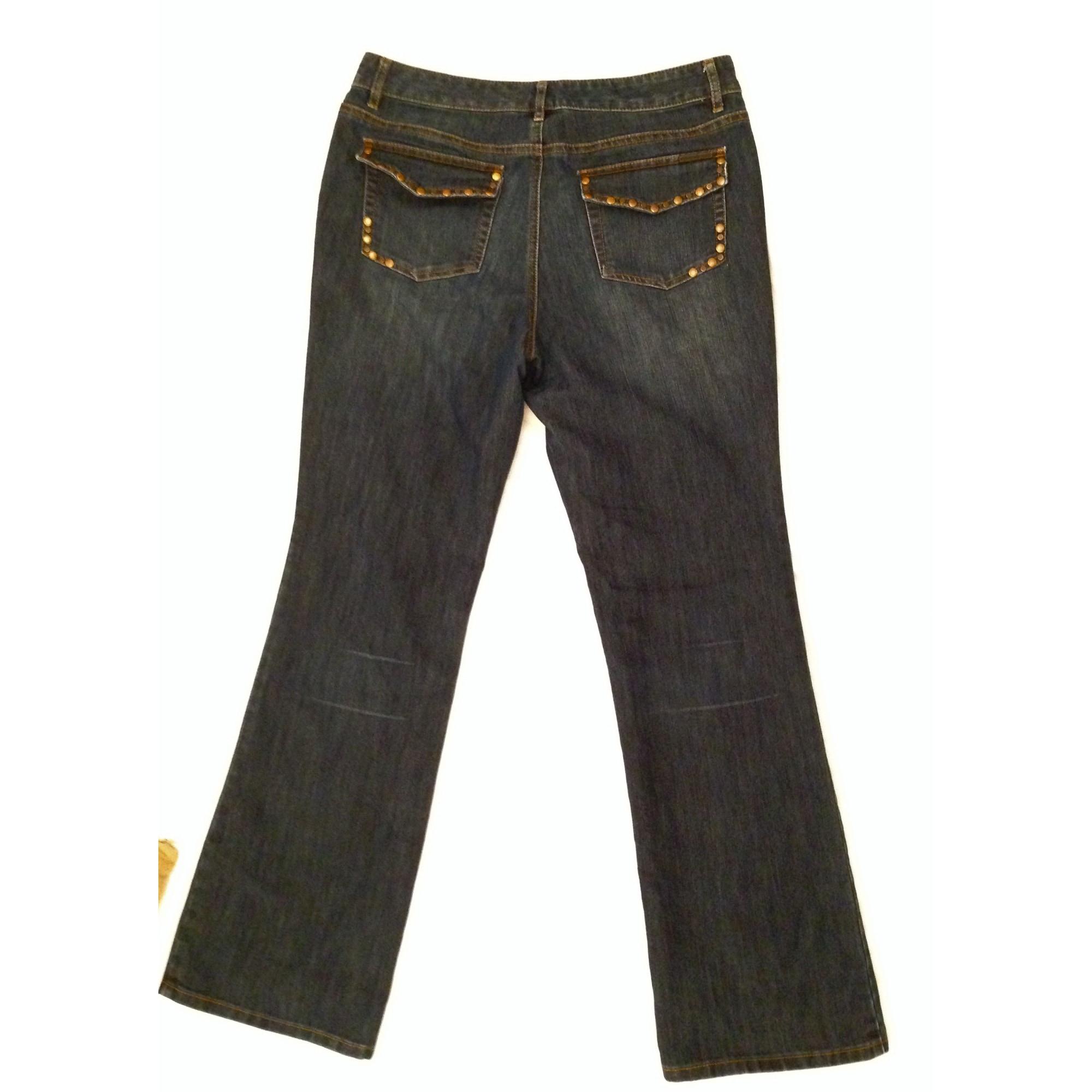 Jeans évasé, boot-cut MICHAEL KORS Bleu, bleu marine, bleu turquoise