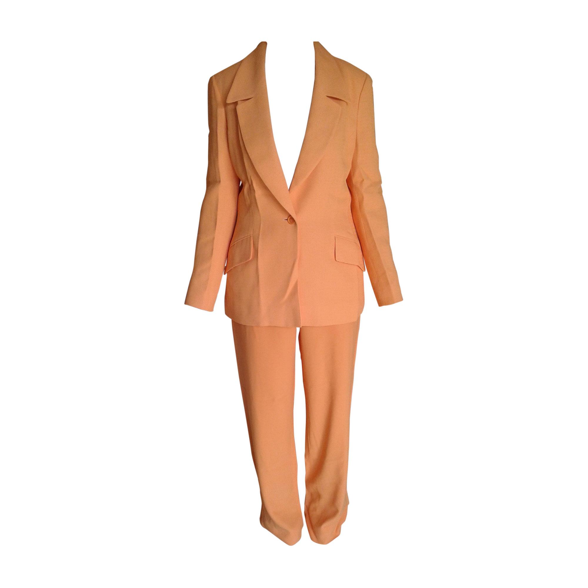 f1f416b2bef Tailleur pantalon CÉLINE Orange