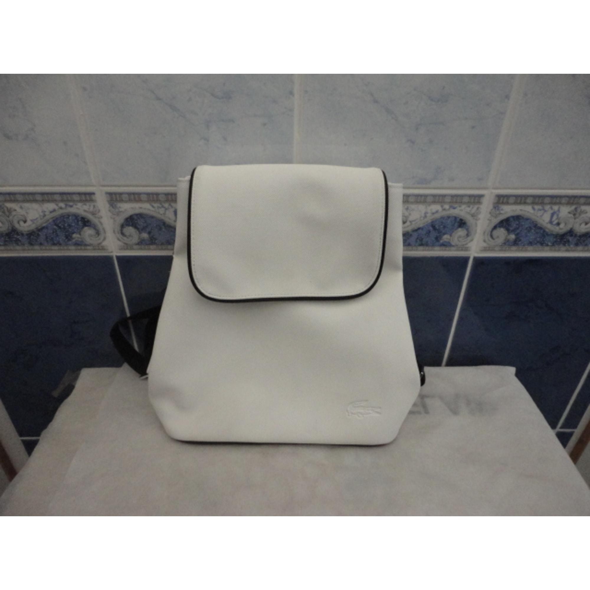 c8db47ace5 Blanc 2802620 Cuir Bandoulière Sac En Lacoste rdthQsC