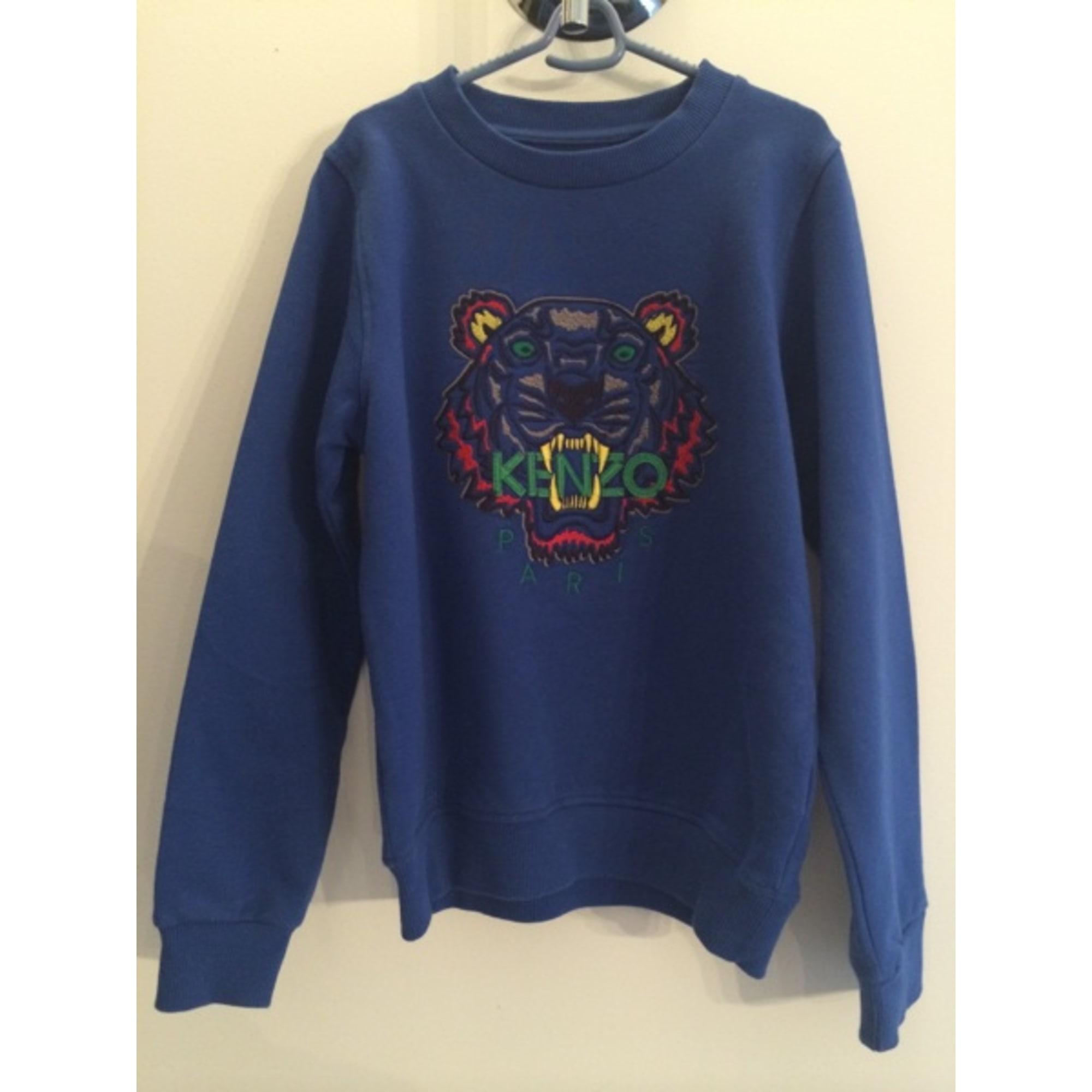 820ad9980c4b Sweat KENZO Bleu, bleu marine, bleu turquoise
