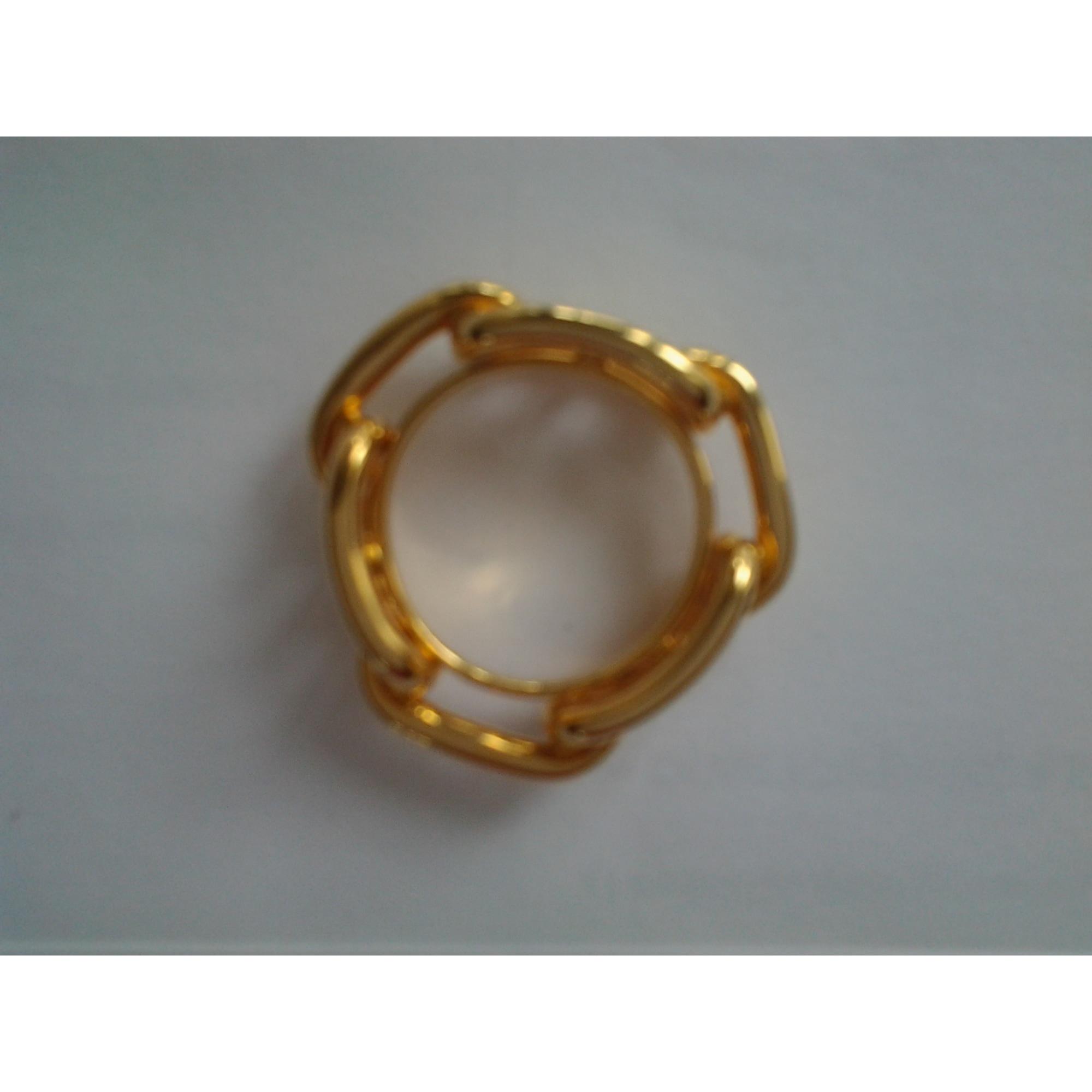 210db5861de Foulard HERMÈS anneau de carr doré vendu par L armoire de margot ...