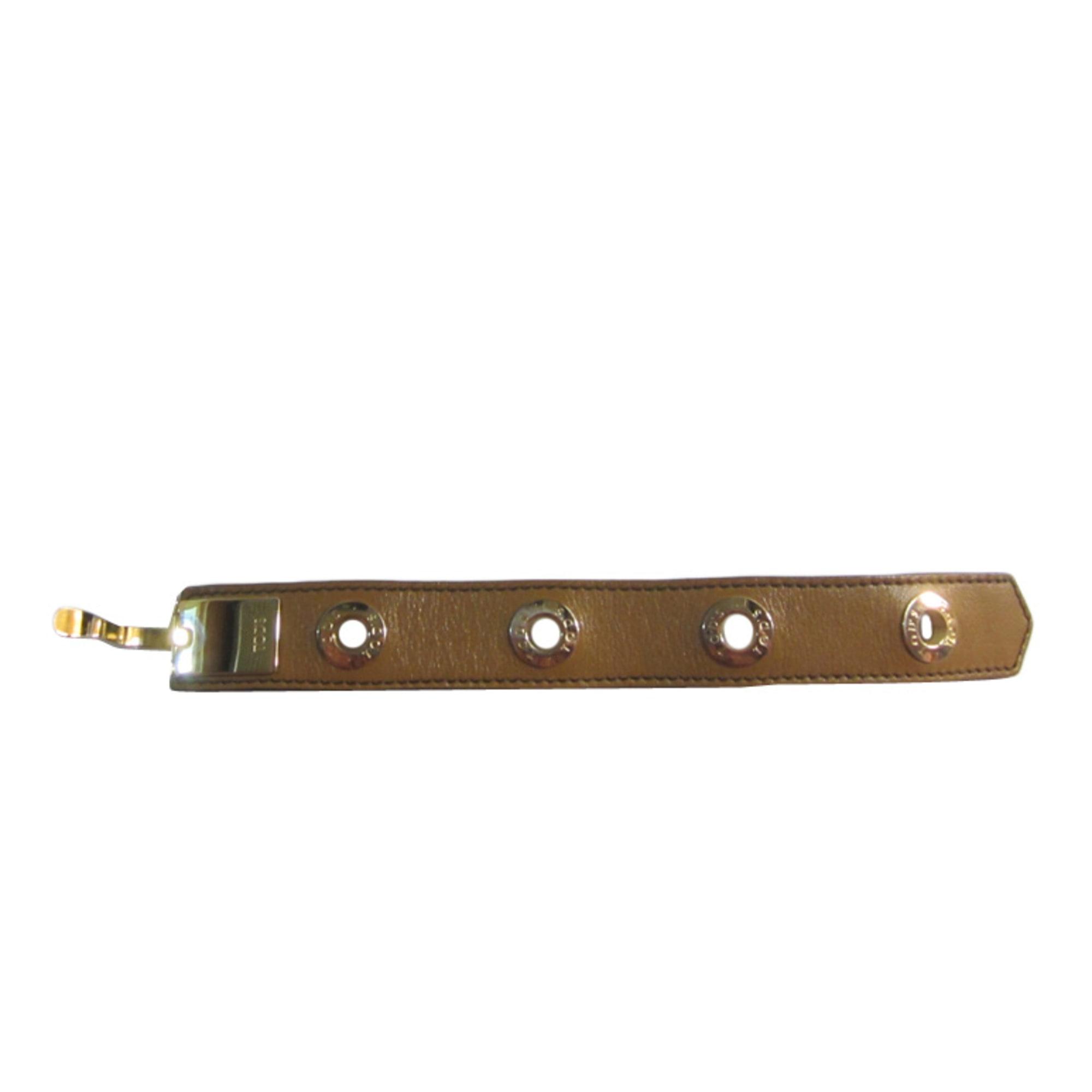 Bracelet TOD'S cuir beige