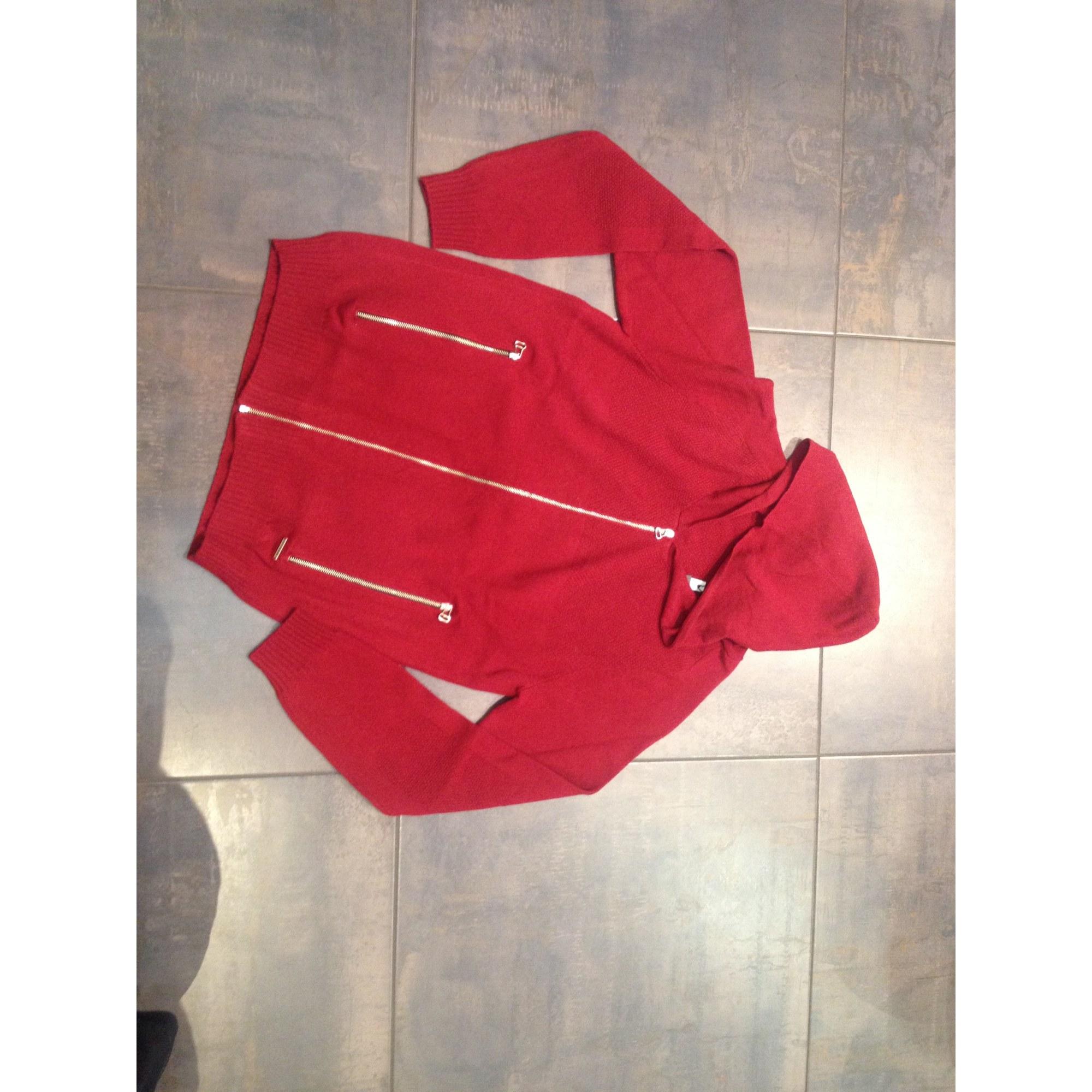 Gilet, cardigan BILLTORNADE Rouge, bordeaux
