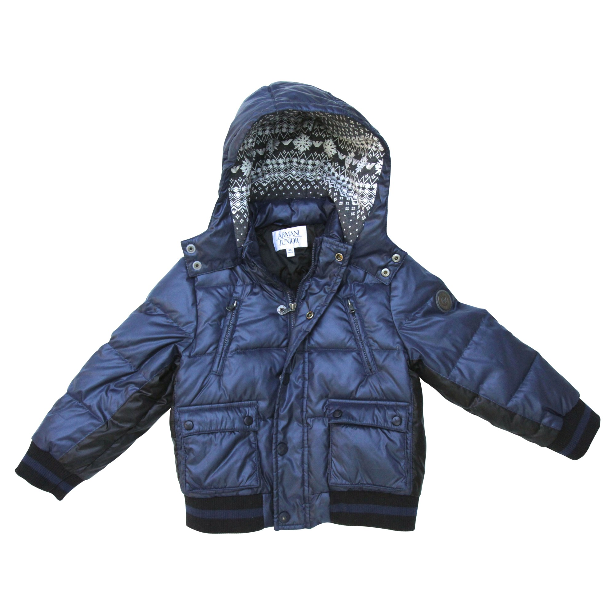 Doudoune ARMANI JUNIOR 3-4 ans bleu vendu par La boutique de drole 2 ... 4fc89321858