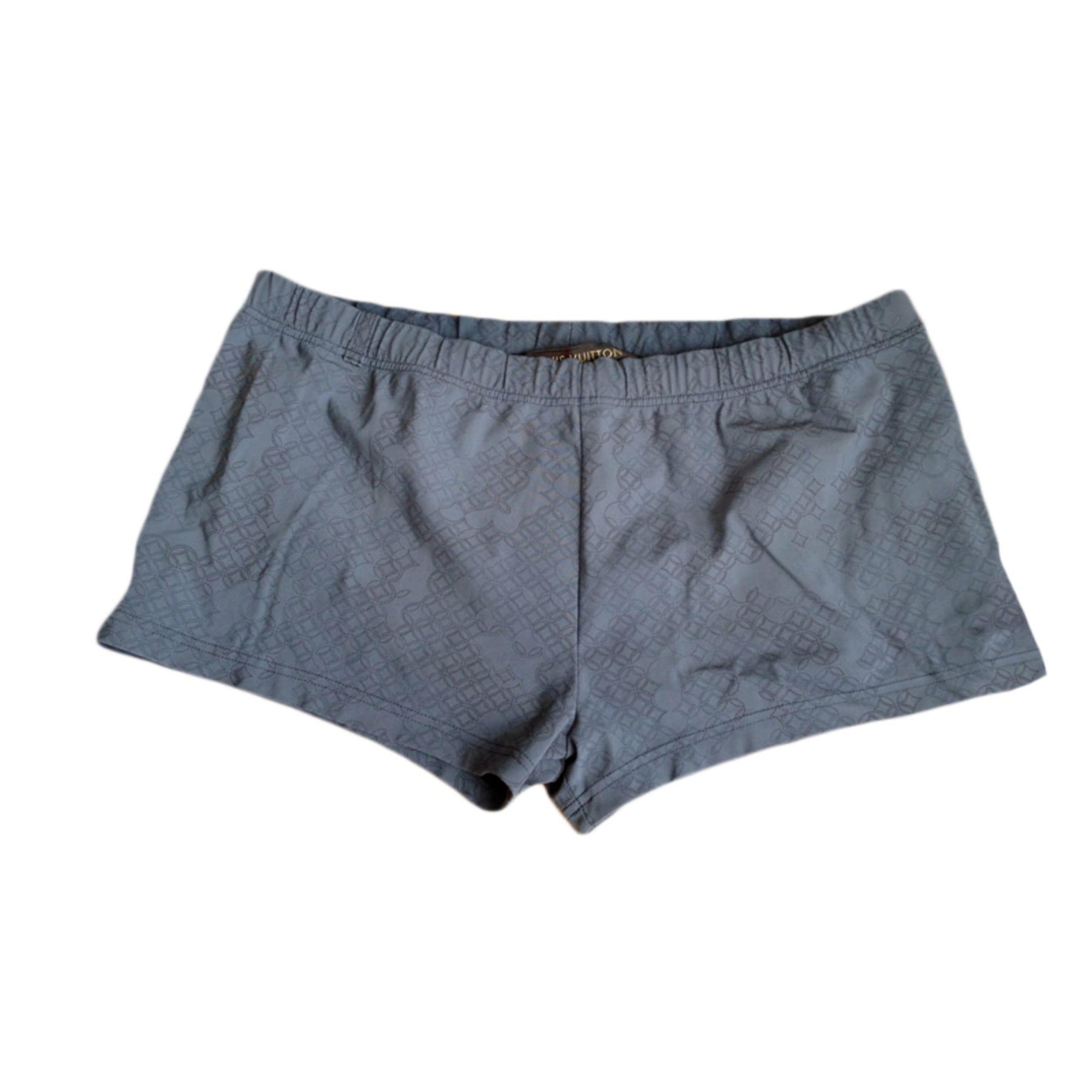 67edfa4b5a6d Boxer de bain LOUIS VUITTON 3 (L) gris vendu par Vincent cbl - 2929308