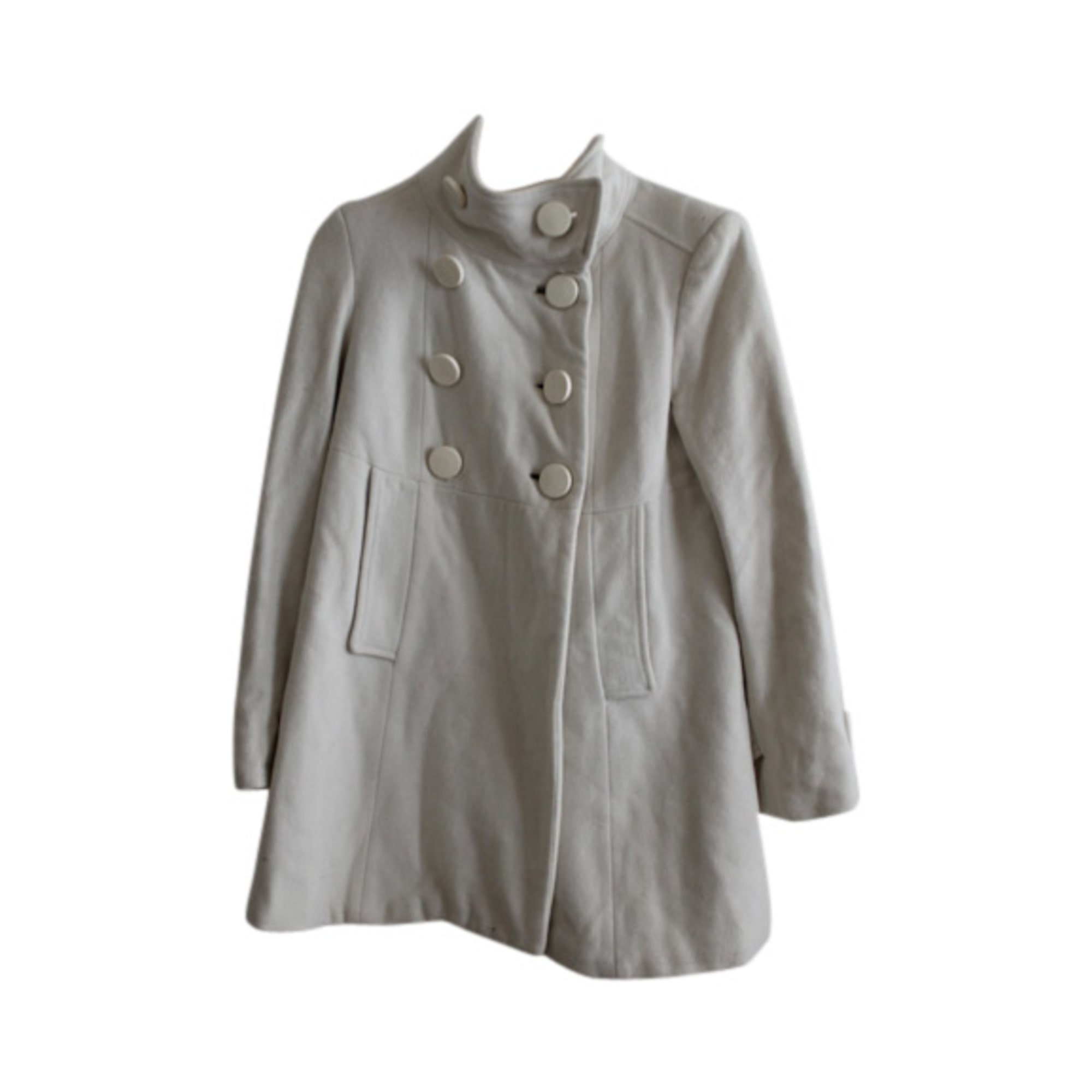 T1 Blanc s 2930020 36 Manteau Zara qEAxIqt