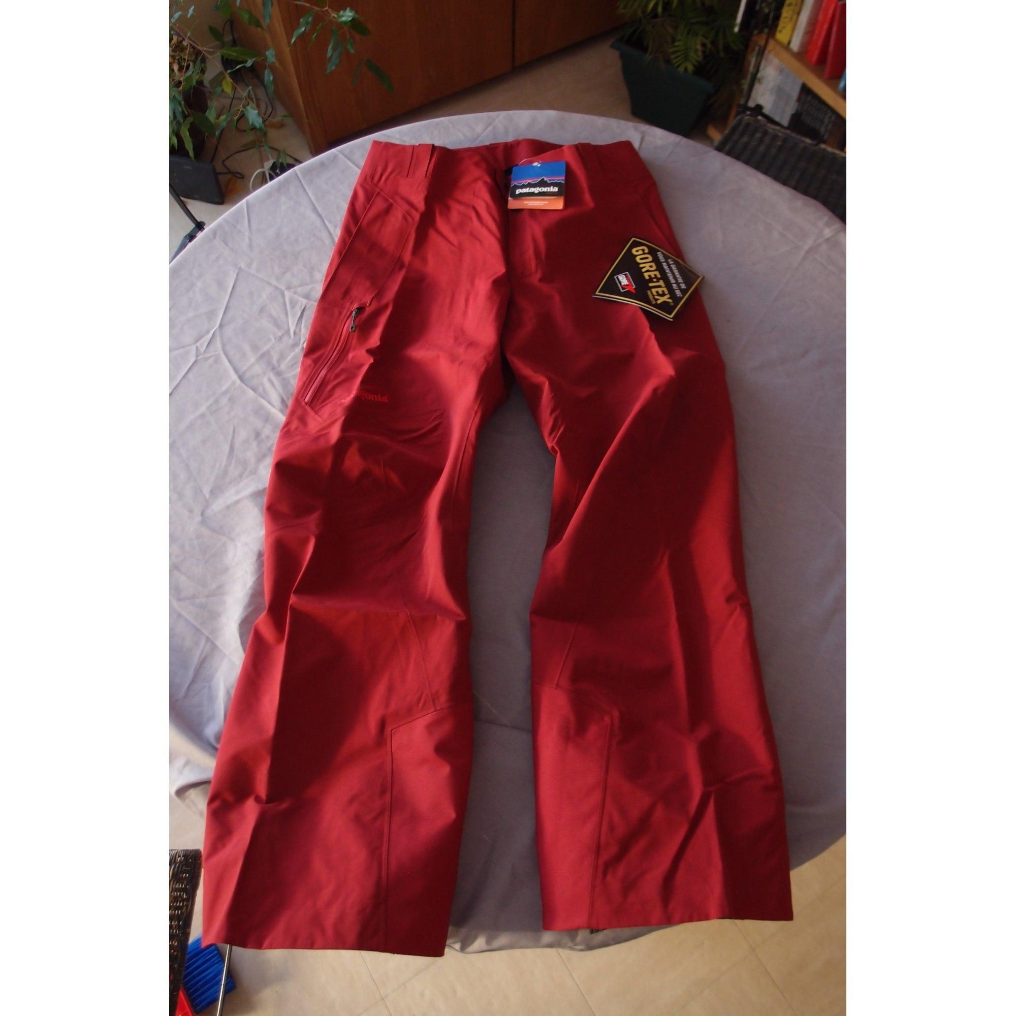 49ebb2e27d0 Pantalon de ski PATAGONIA Autre rouge - 2974893