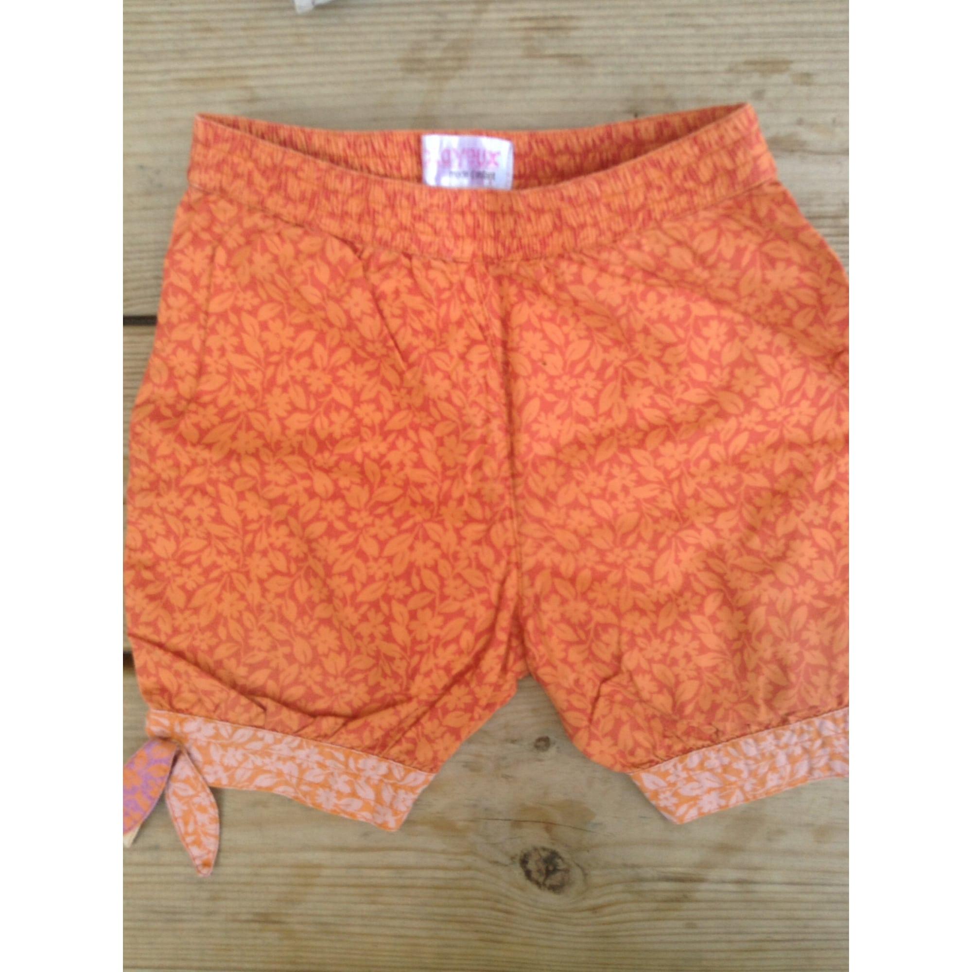 Short CLAYEUX Orange