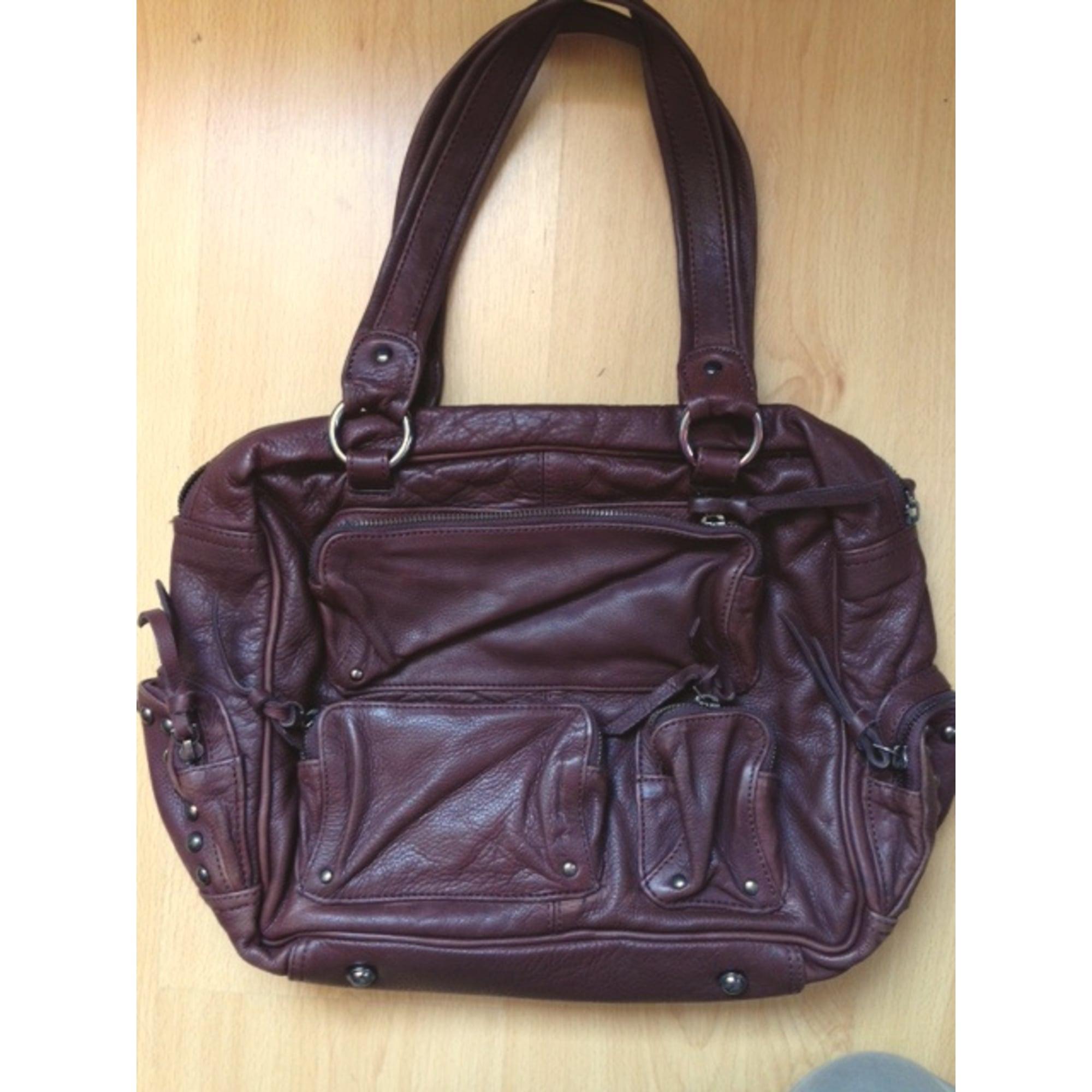 sac en bandouli re en cuir la redoute marron vendu par nanne b 3018572. Black Bedroom Furniture Sets. Home Design Ideas