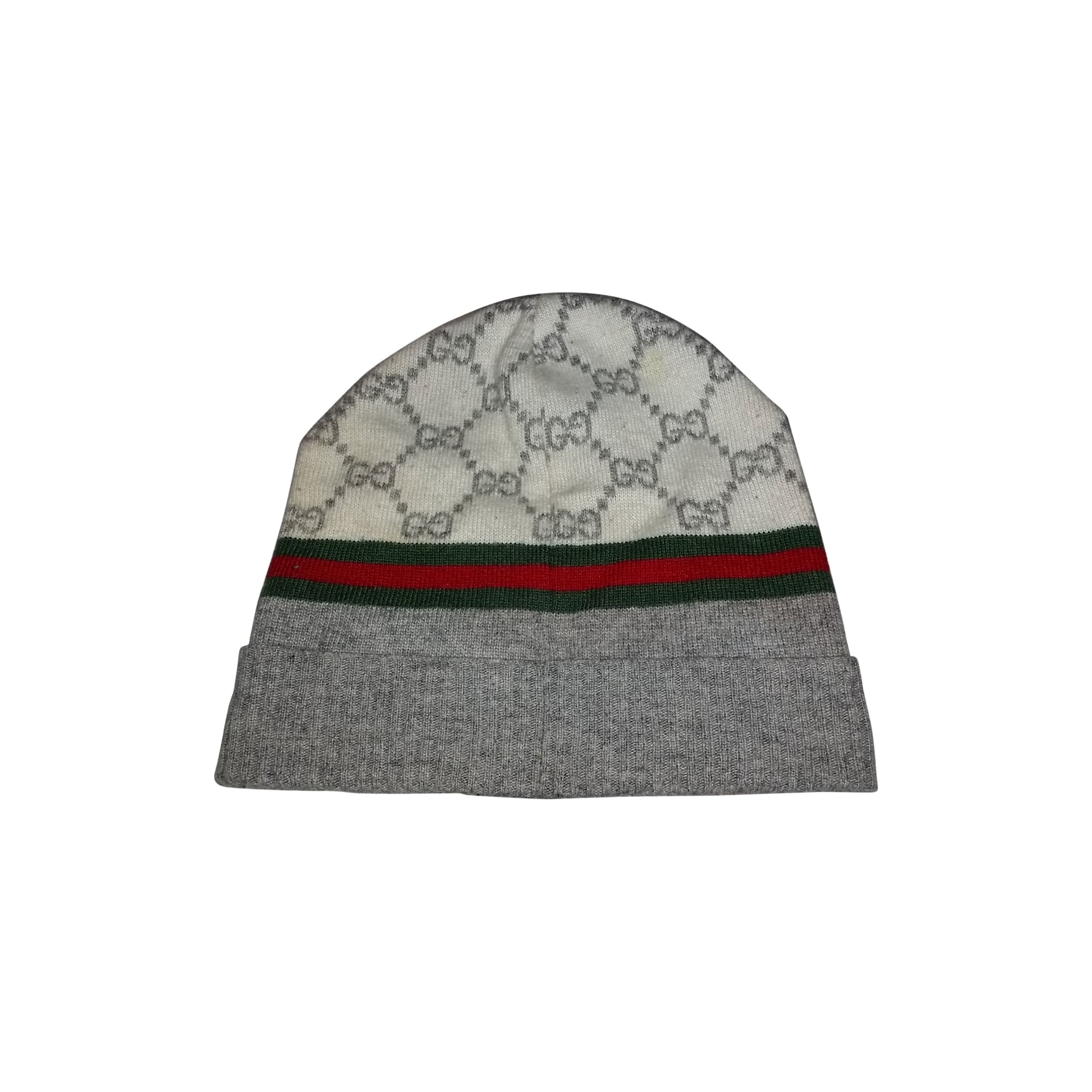 9fe043cd3523 Bonnet GUCCI Taille unique blanc - 3029248