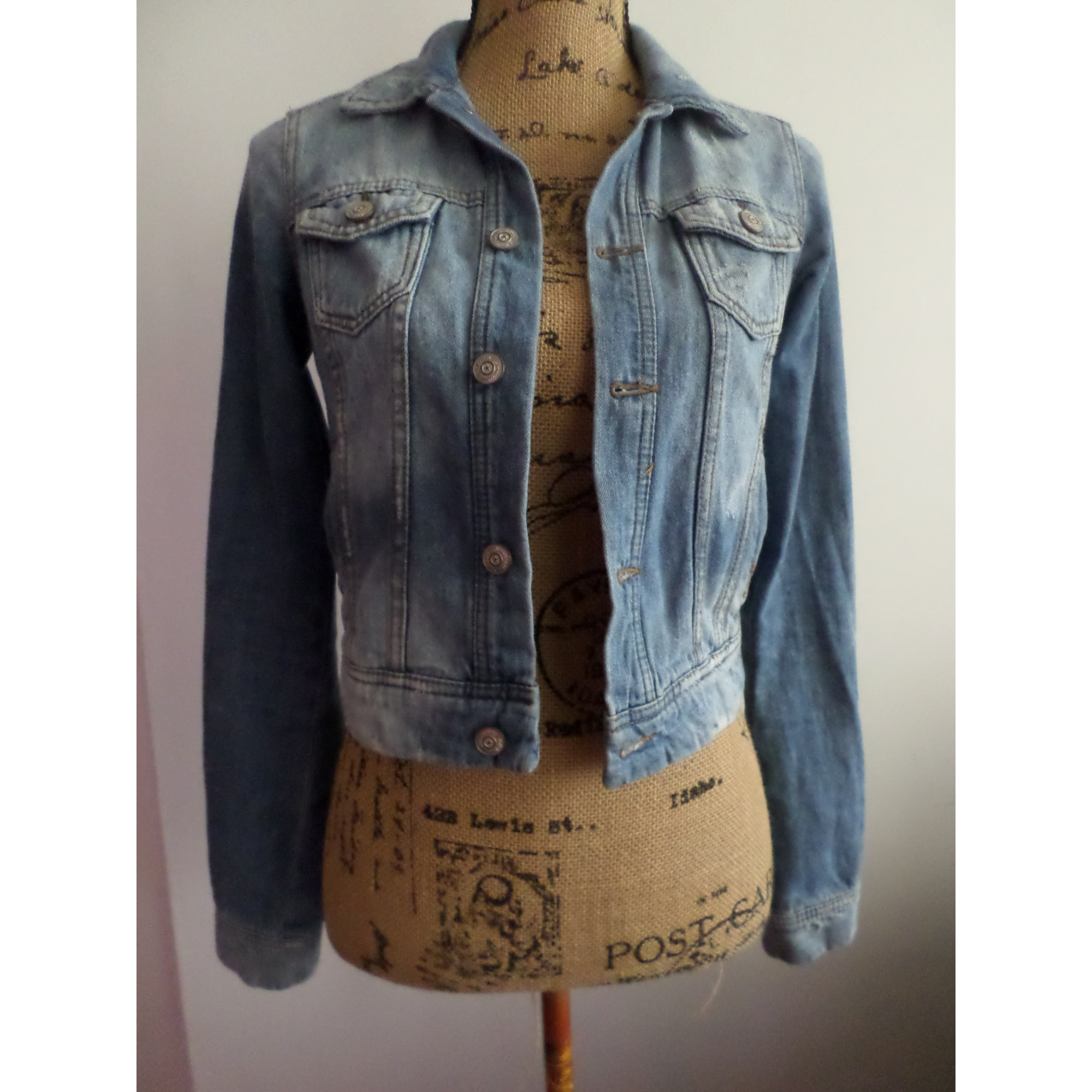 meilleur choix aspect esthétique nouveaux produits pour Veste en jean