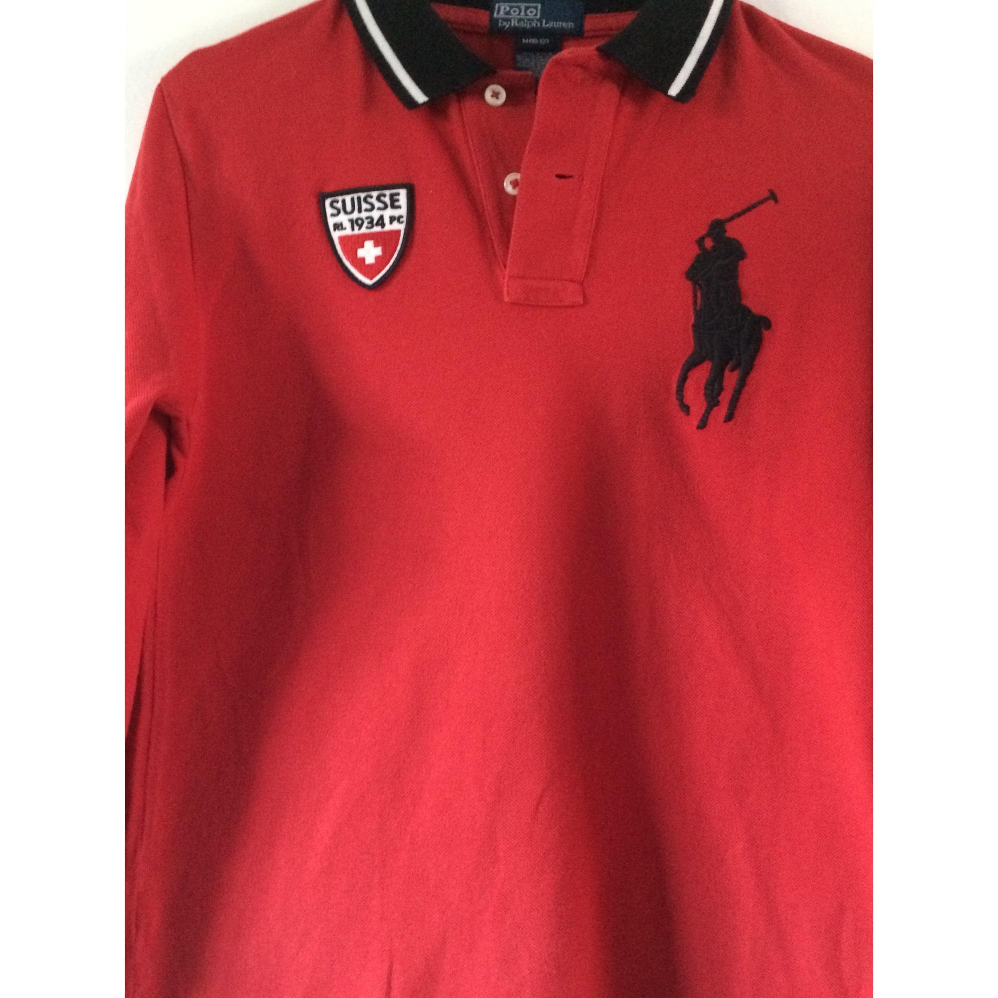 Shirt Lauren Rouge Ralph Tee Bordeaux Polo 54S3RqcAjL