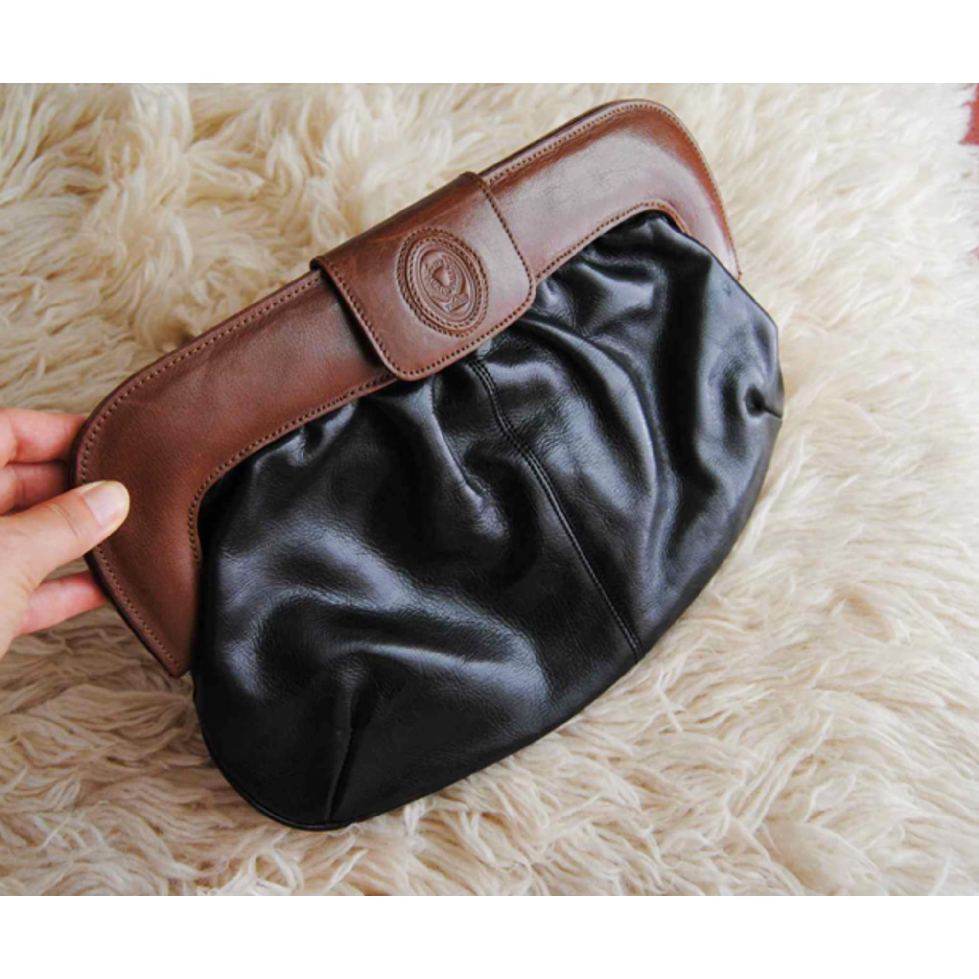 dd3fc97dfb318 Handtasche Leder DISSER schwarz vendu par Nine 748023 - 3071265