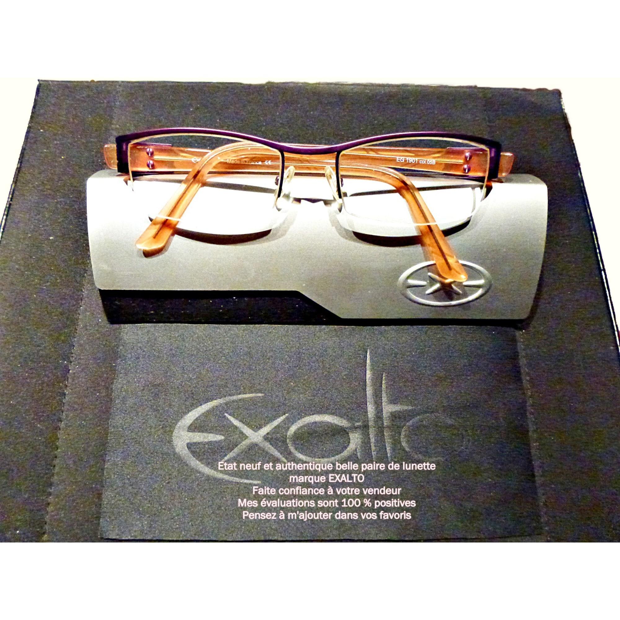 Monture de lunettes LUNETTE DE VUE EXALTO multicouleur vendu par ... 5e6572411fe5