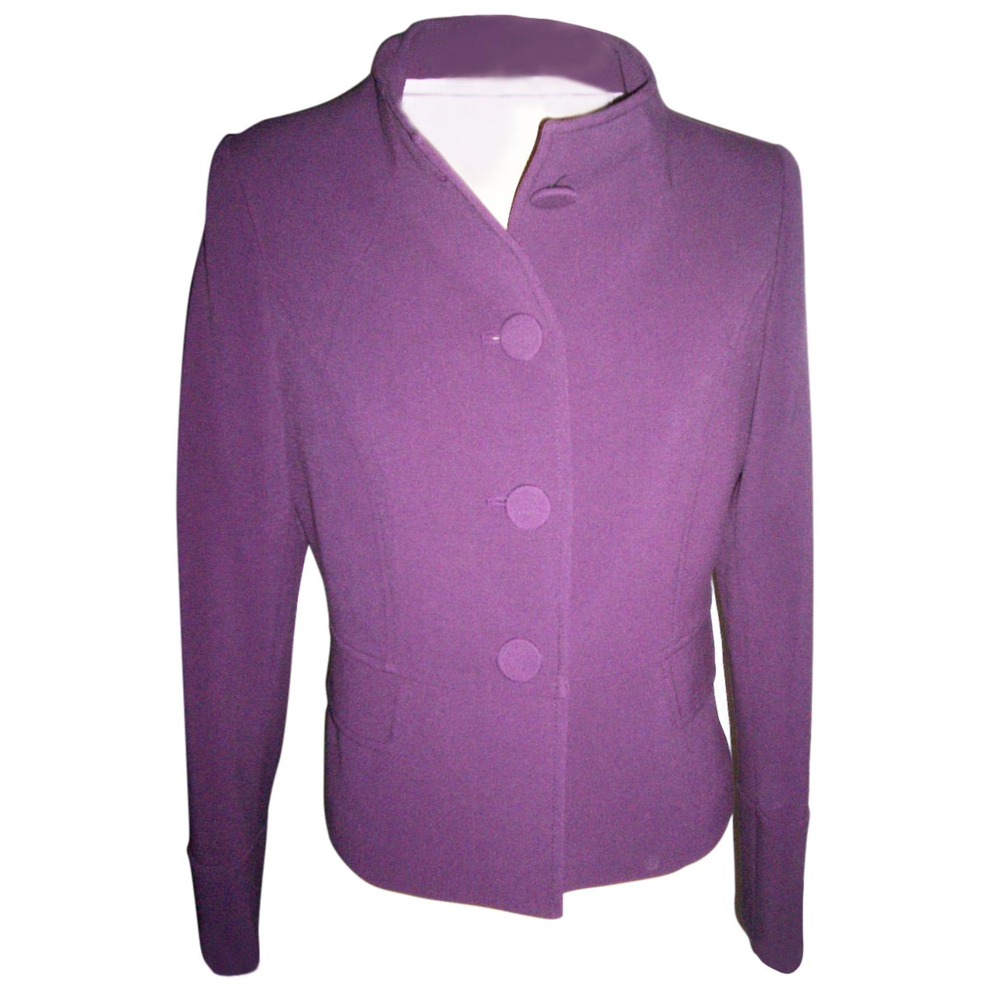 3ee43384f668 Veste CAROLL 40 (L, T3) violet - 3155032