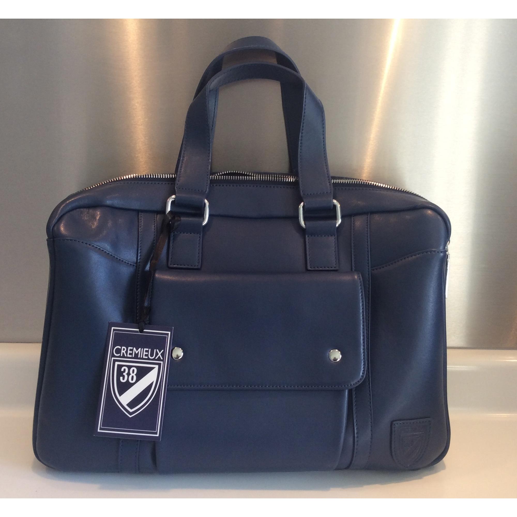 par Sac en vendu Patrick CREMIEUX 41534556 DANIEL bleu main à cuir FHxwq6gF8