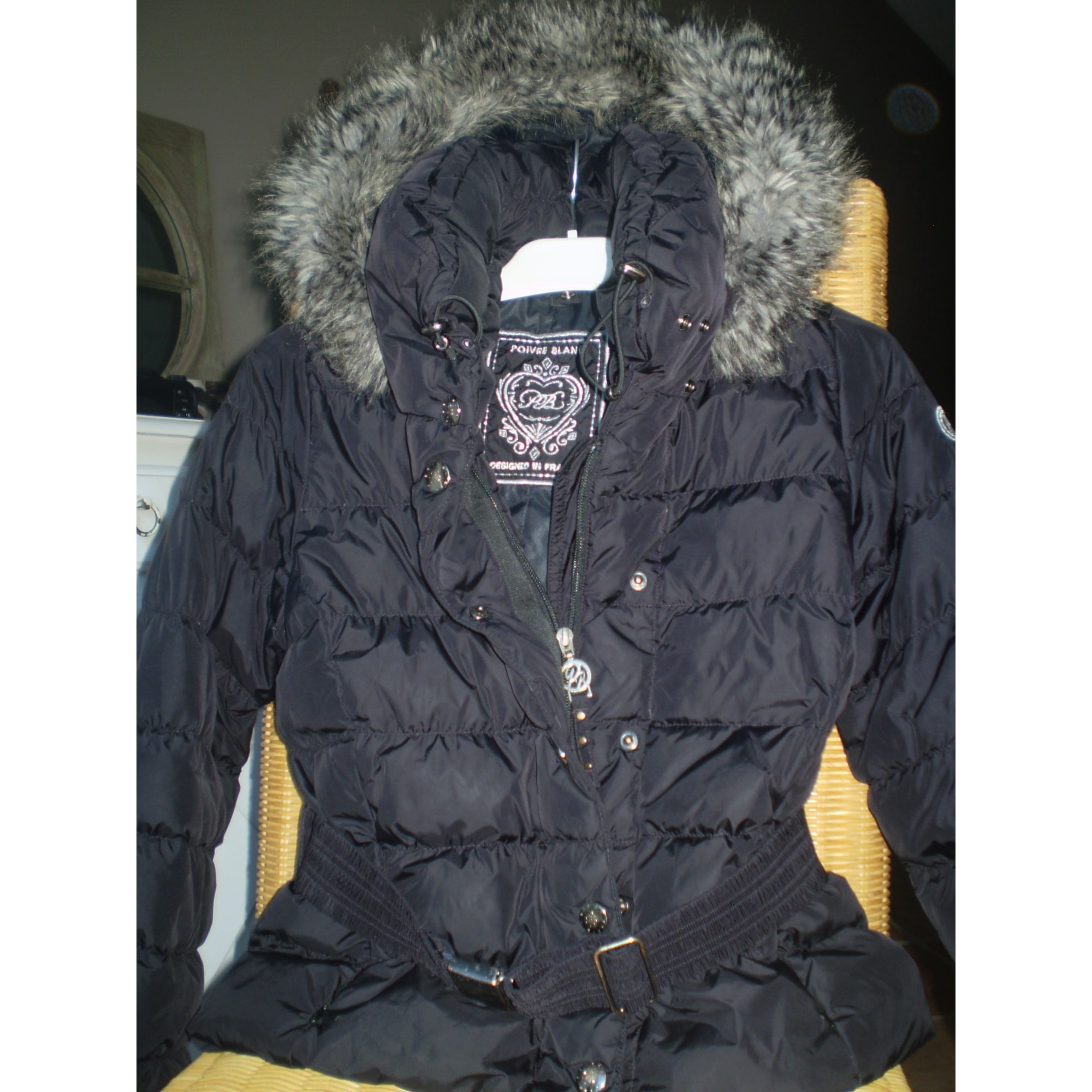 bb986d897154 Doudoune POIVRE BLANC 9-10 ans noir vendu par D anais 501571131 ...