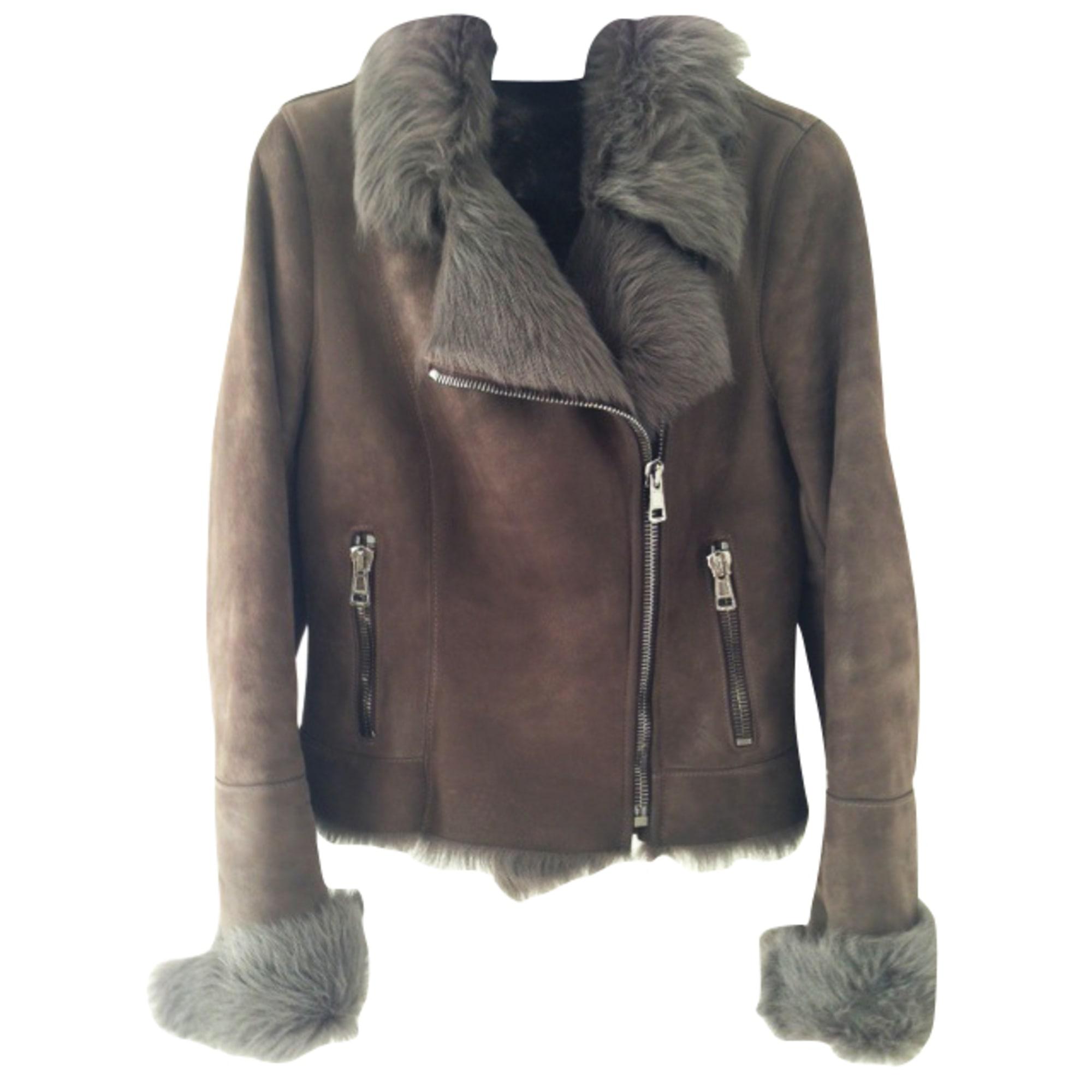 d75bf17c9a00 Blouson, veste en fourrure VENTCOUVERT 38 (M, T2) kaki vendu par Cr ...