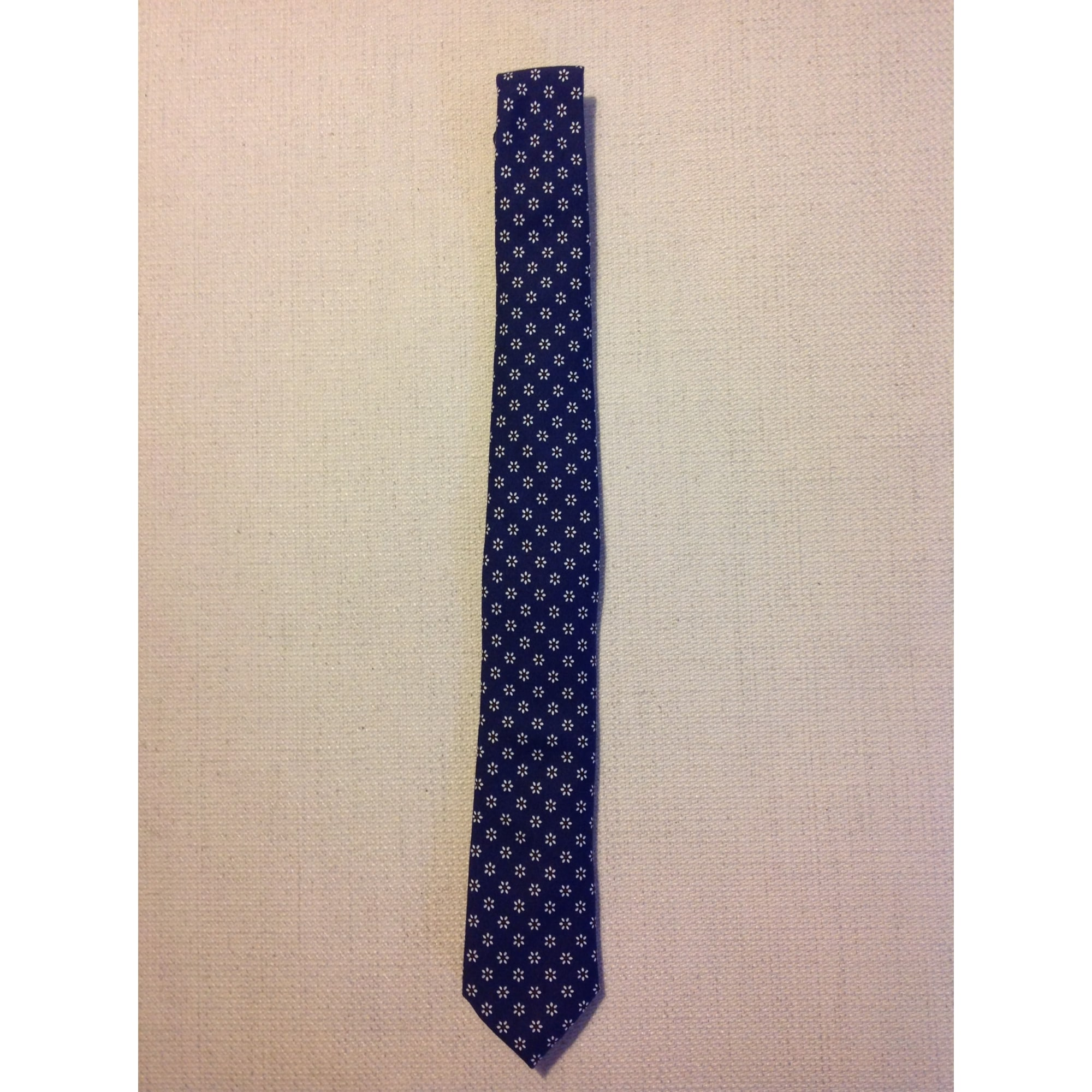 17016a56a636 Tie MASSIMO DUTTI Blue, navy, turquoise