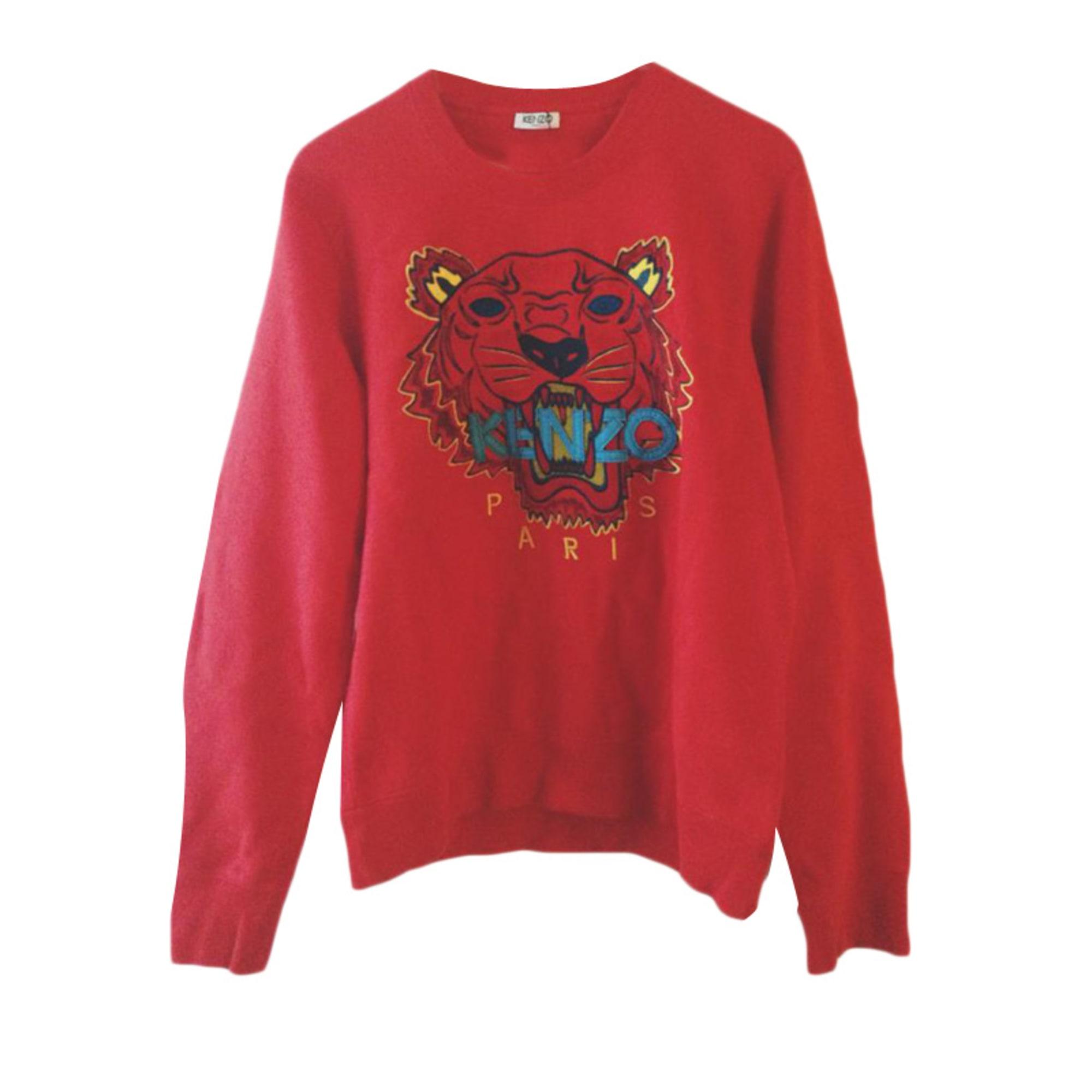 10b3c4b1b65 Sweat KENZO 2 (M) rouge vendu par Thomas 557659 - 3193540