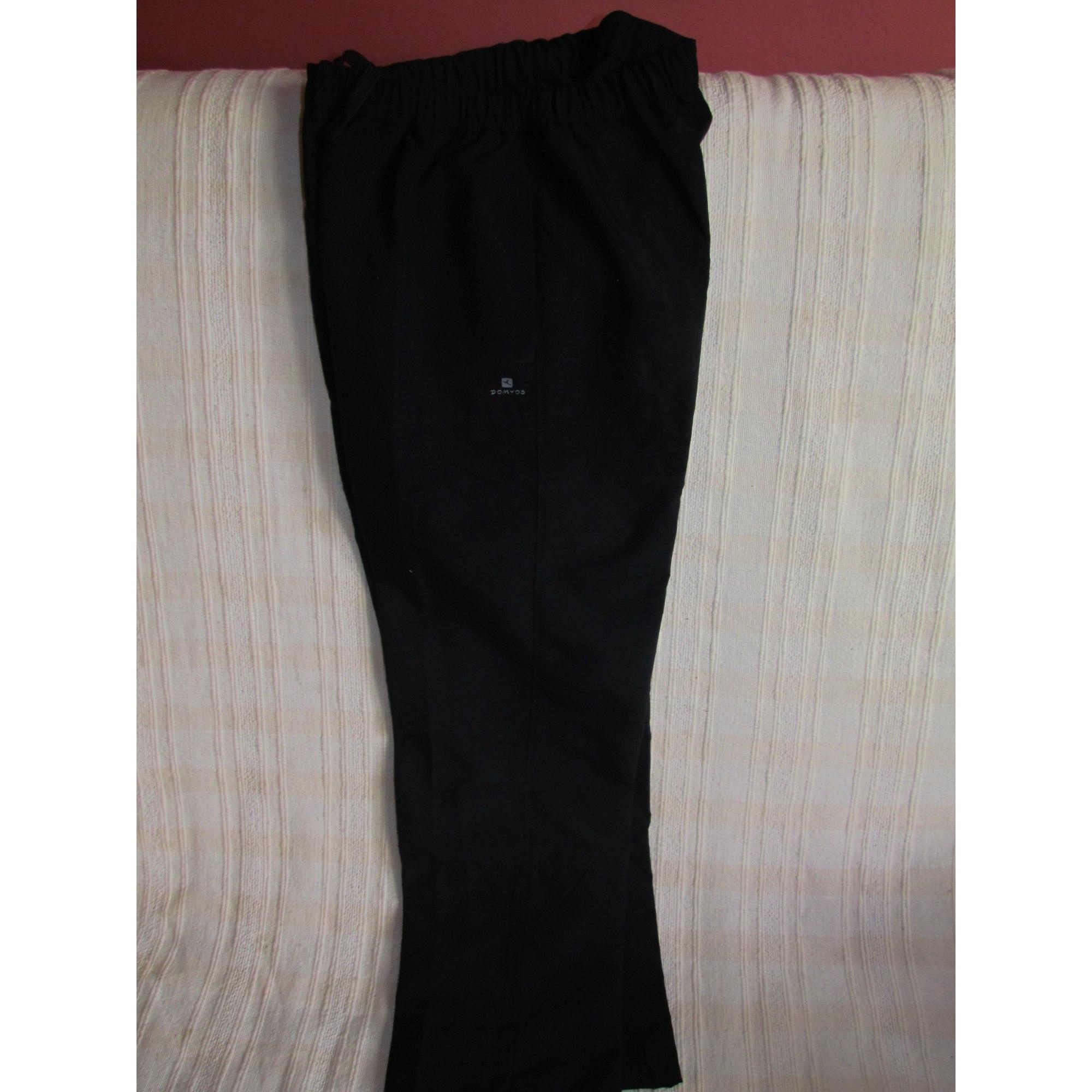 Pantalon de survêtement DOMYOS Noir