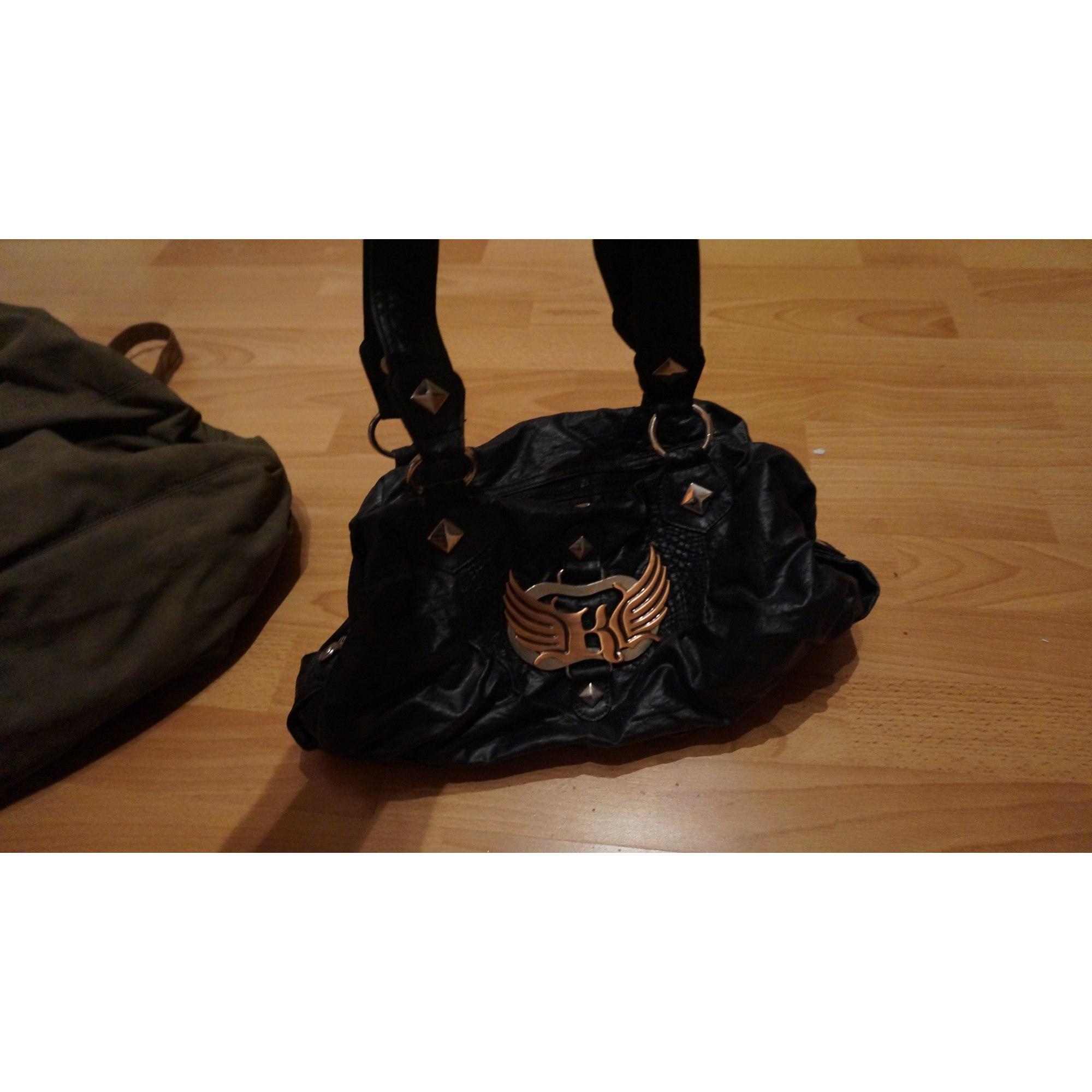 85a4857724 Sac à main en cuir KAPORAL noir vendu par Adelinecachet - 3251304