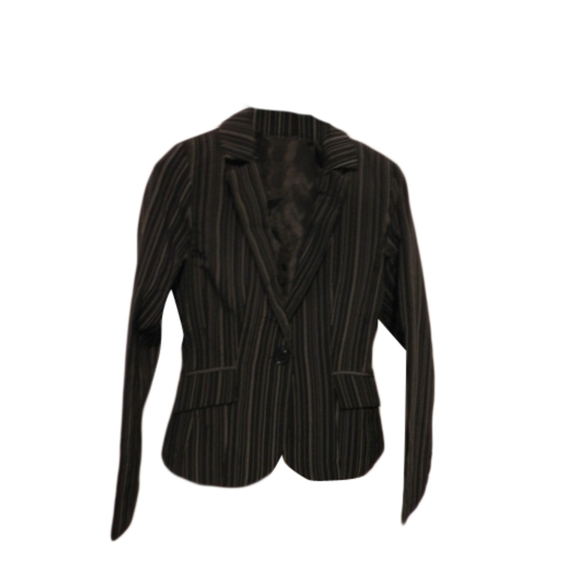 Tailleur pantalon ICI ET MAINTENANT 36 (S, T1) noir vendu par ... b86ef18d26c1