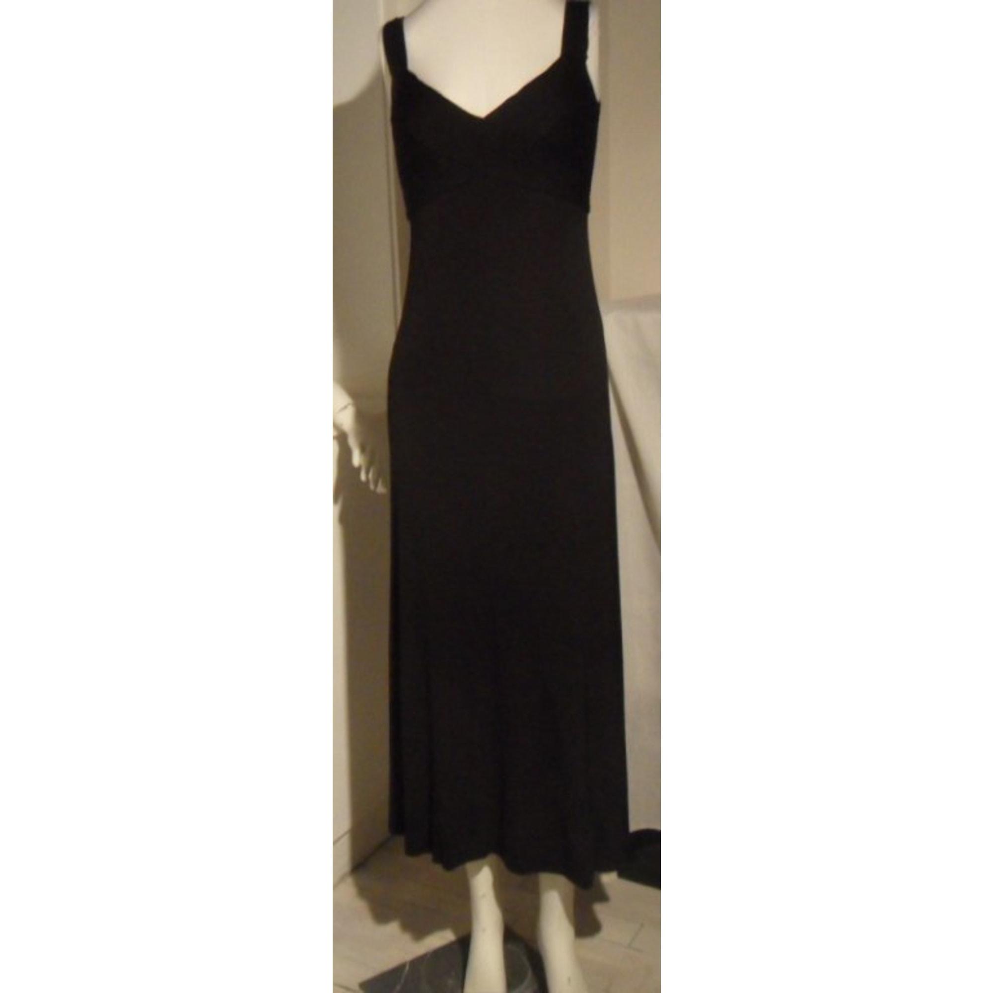 047f4c07e60 Robe longue HERVE LEGER Autre noir - 3276785