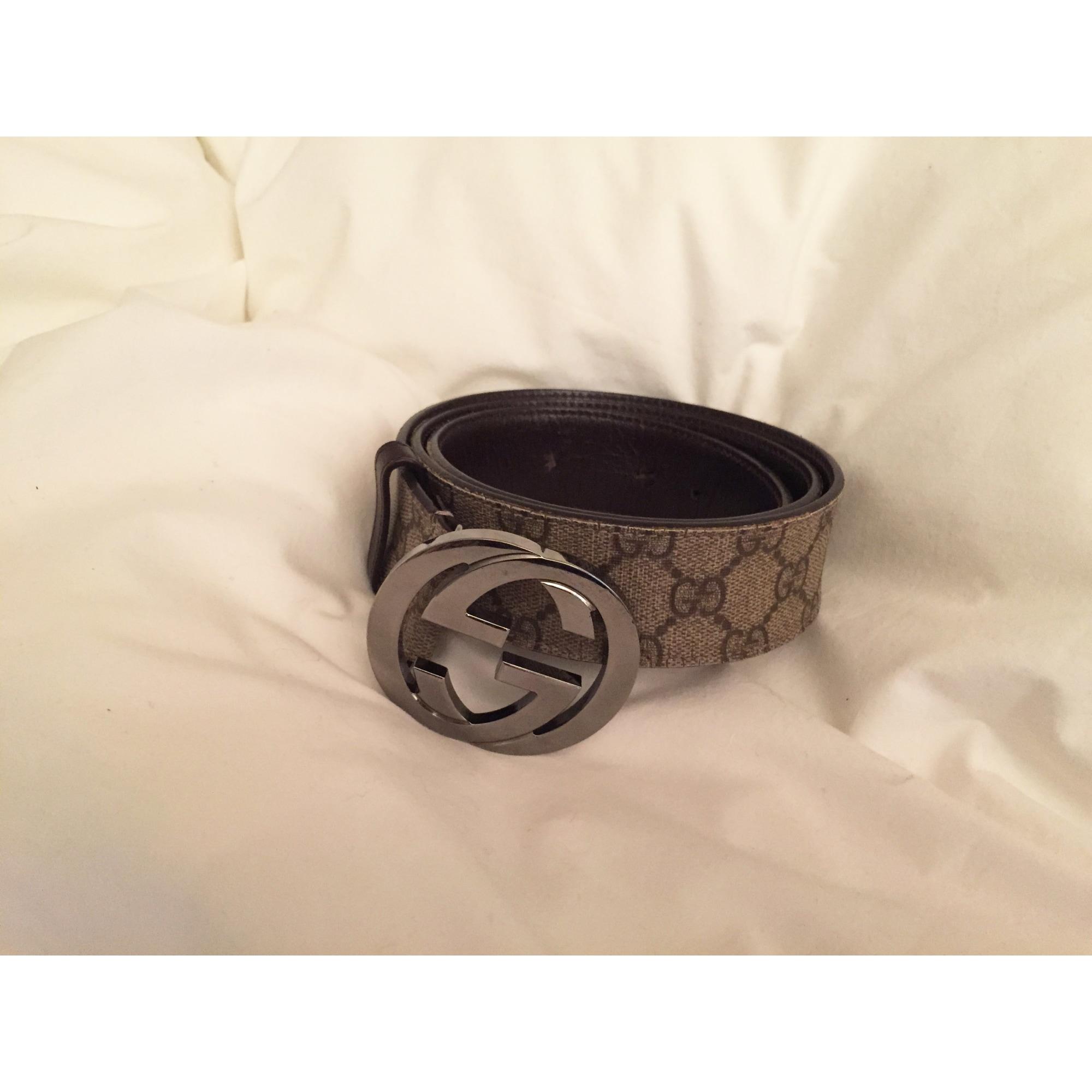 Ceinture GUCCI 110 marron vendu par Athom - 3285630 49a613b1013