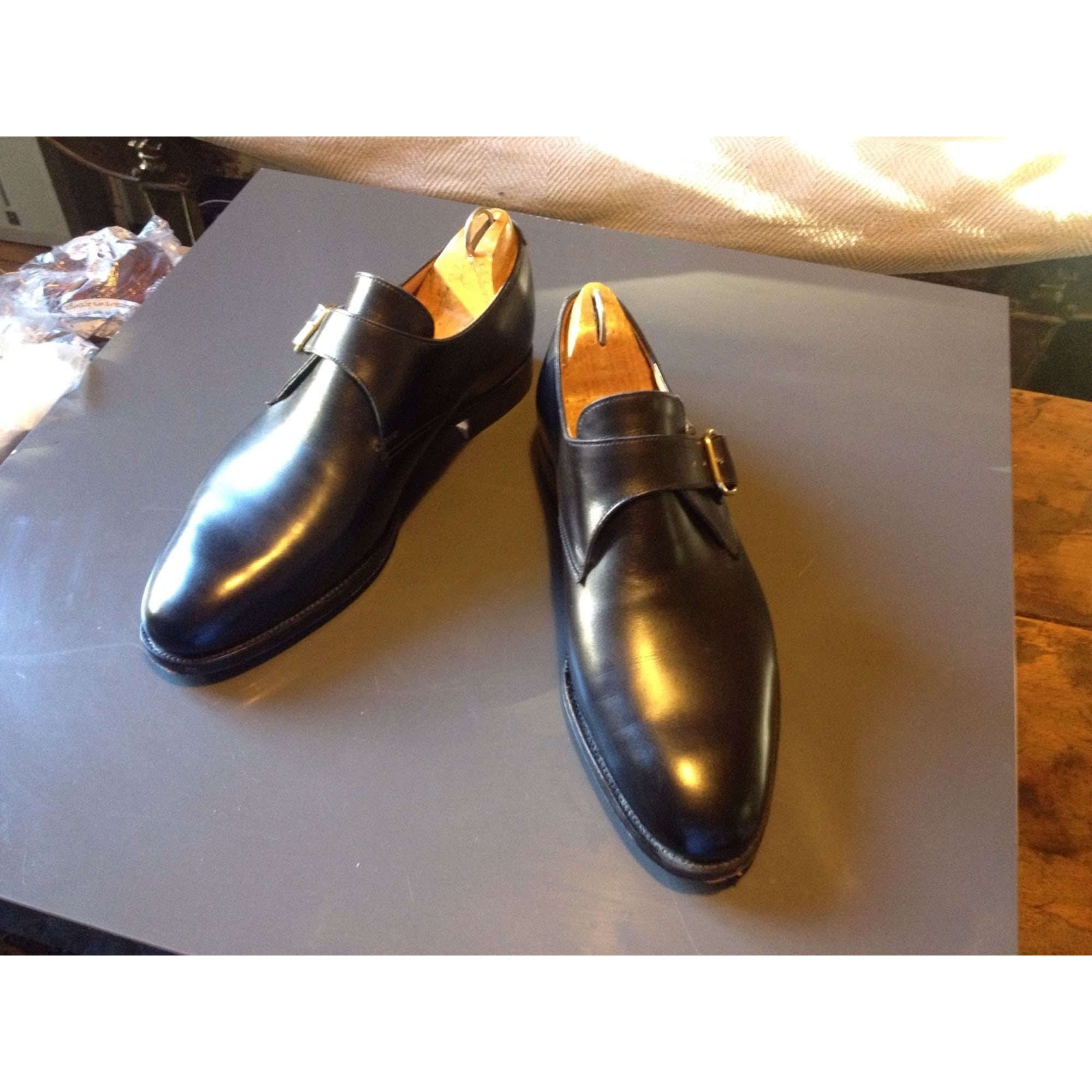 Chaussures à boucles JOHN LOBB 42 noir - 3291403 80b2f43cbb8
