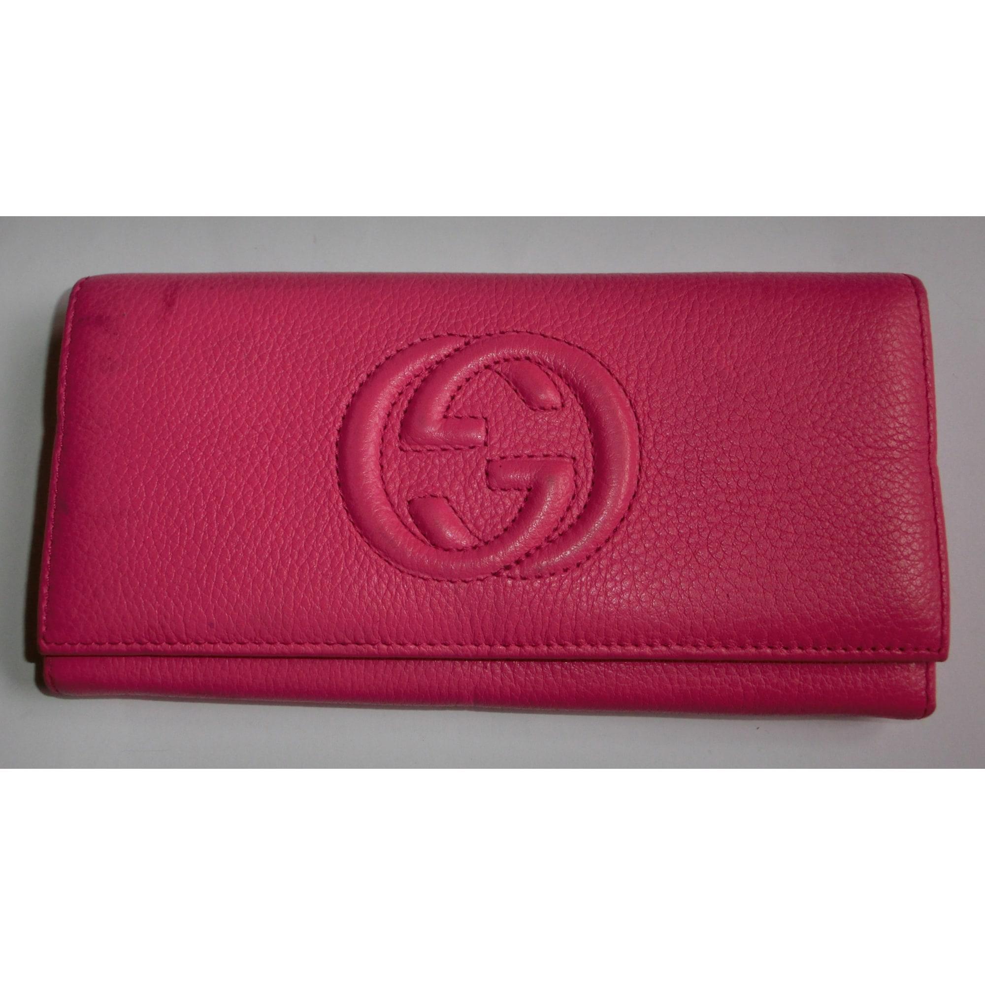 82a8dfb125f46 Portafoglio GUCCI rosa - 3324779