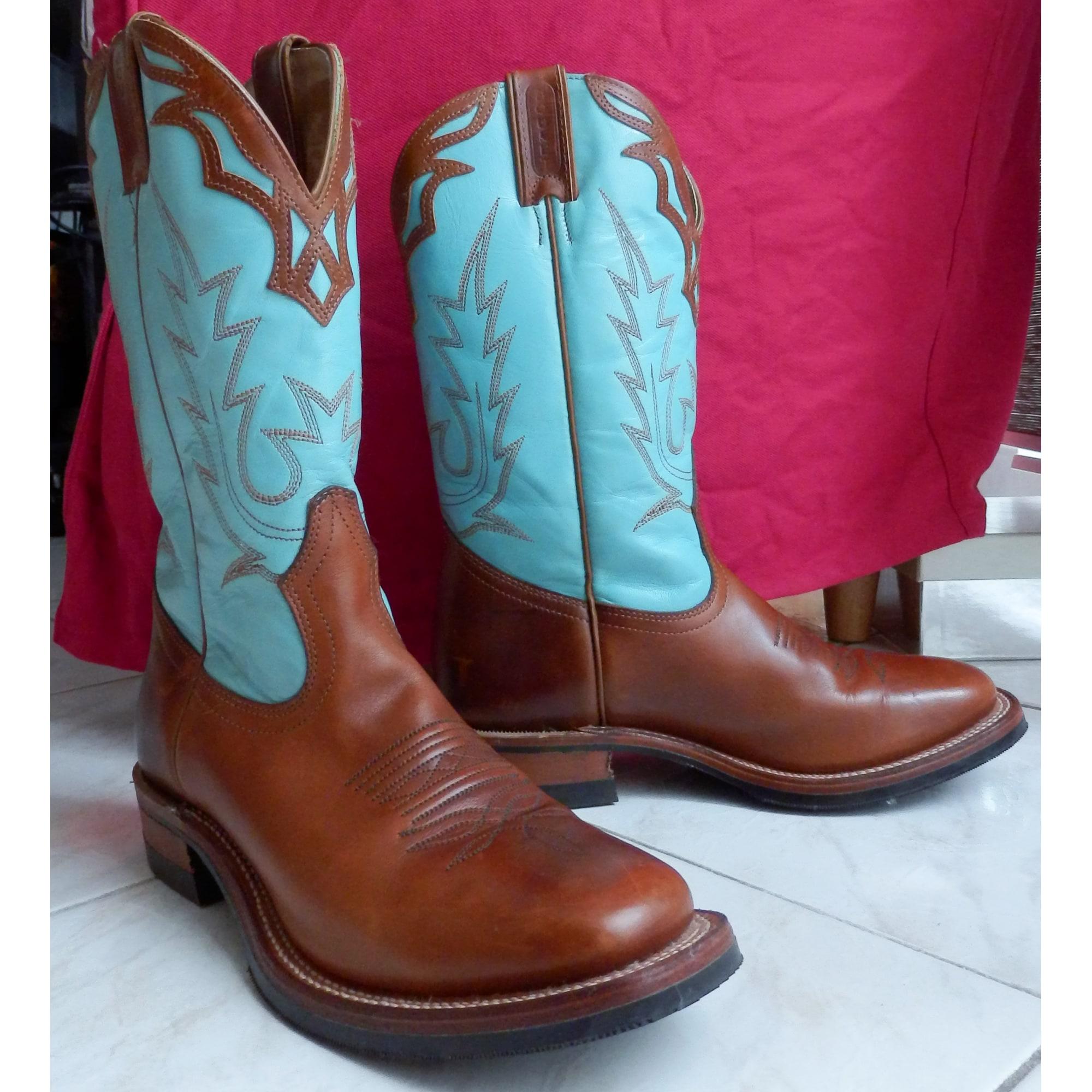 Santiags, bottes cowboy BOULET 40 multicouleur vendu par Vanina 100 ... 74f4a0b45ca2