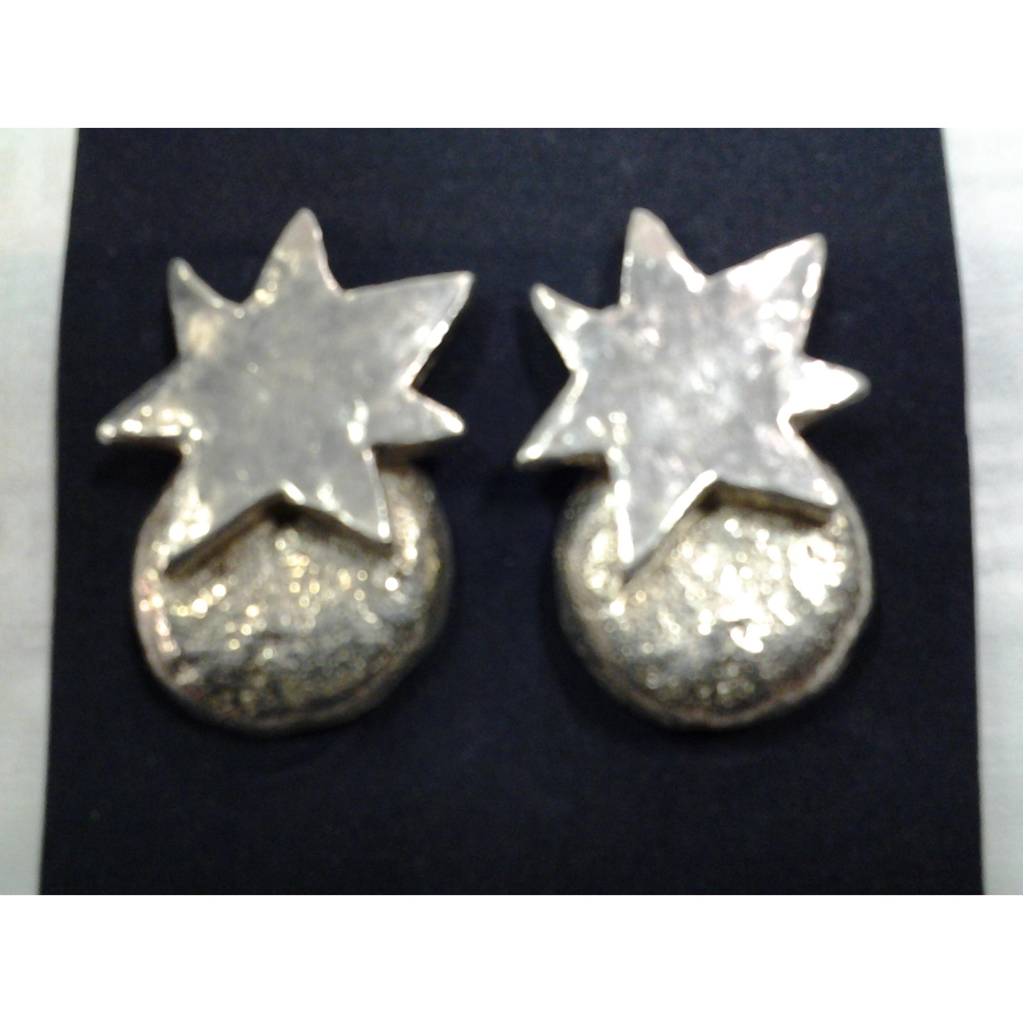 Boucles d'oreille DELPHINE NARDIN  métal argent