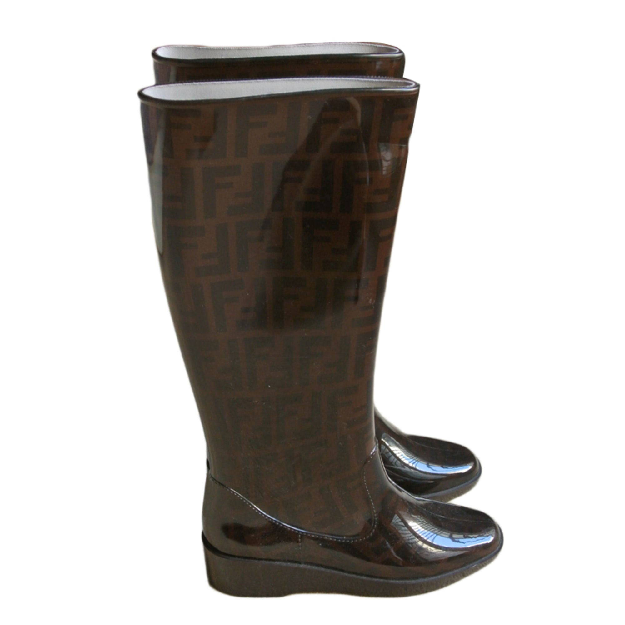 bottes de pluie fendi