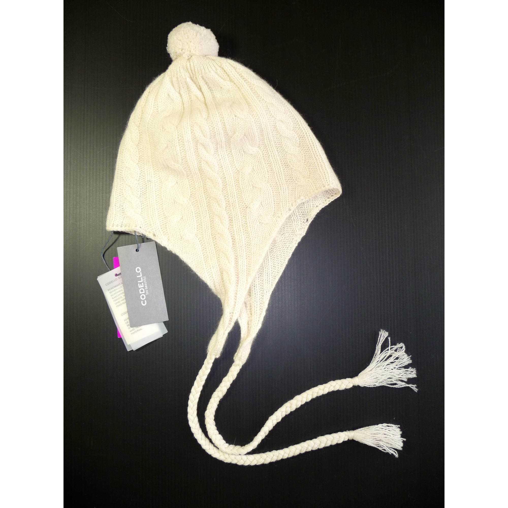 Bonnet CODELLO Taille unique blanc - 3378034 a08641d6ddb