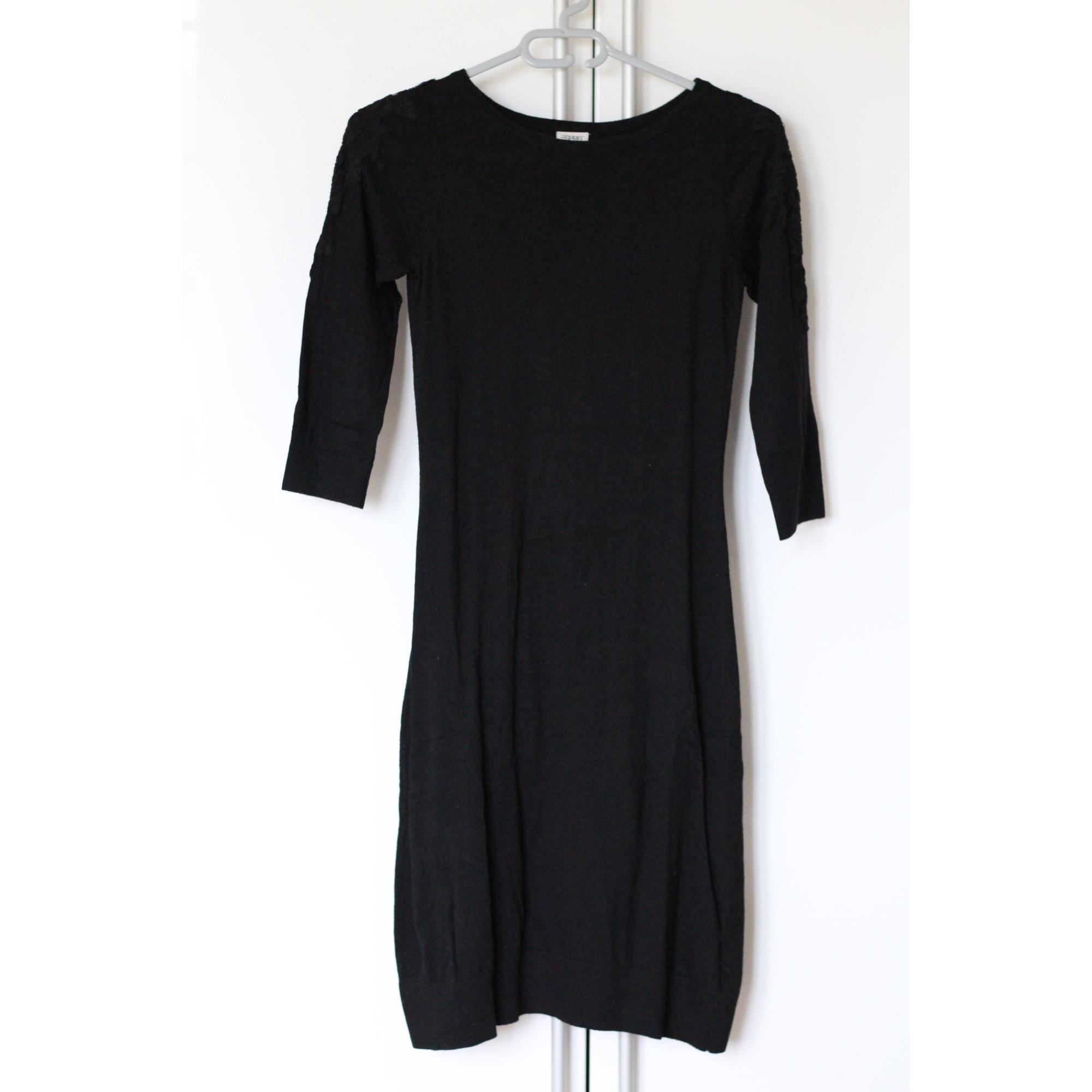 Robe pull ESPRIT Noir