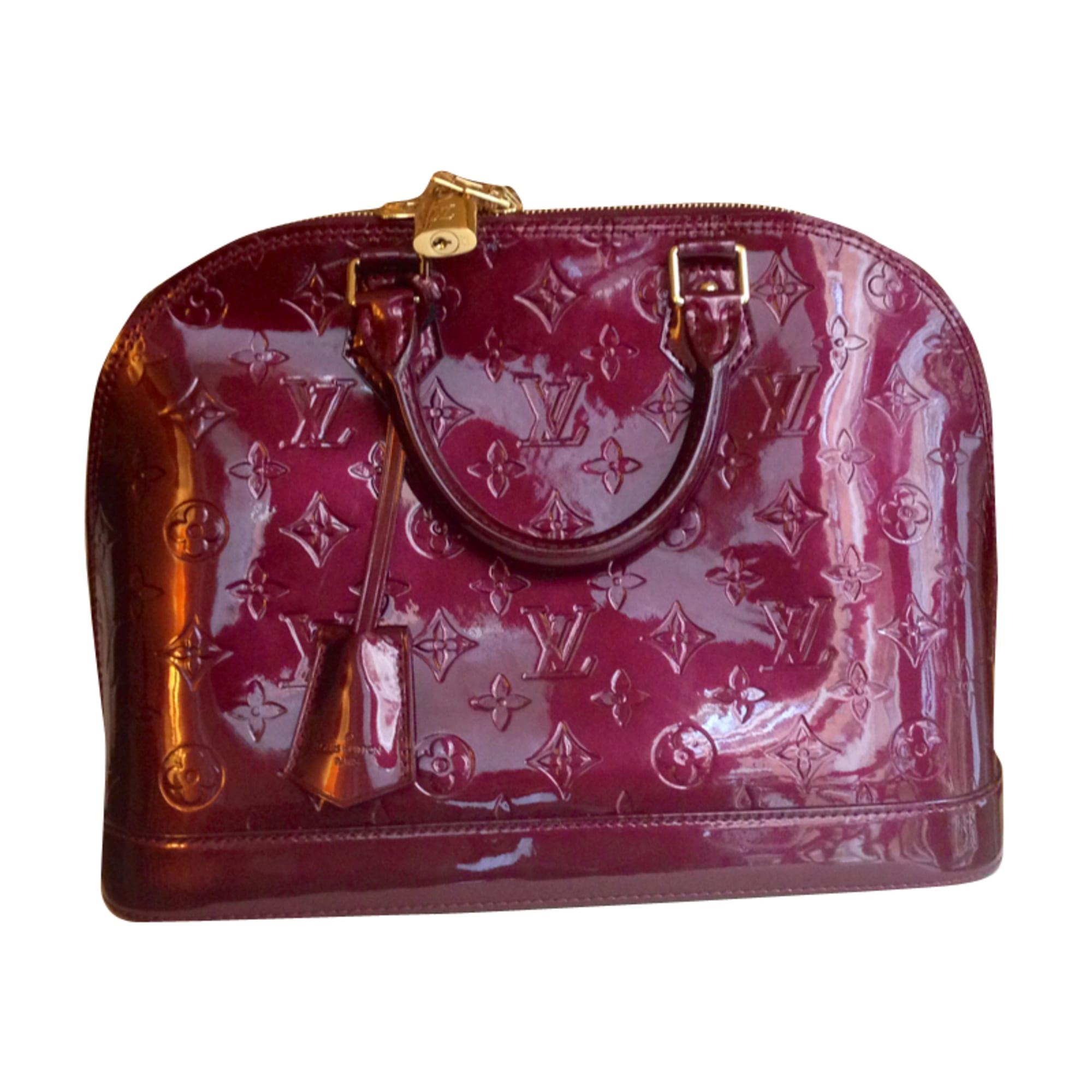 cdf74bdf16b5 Sac à main en cuir LOUIS VUITTON alma rouge vendu par Marianne ...