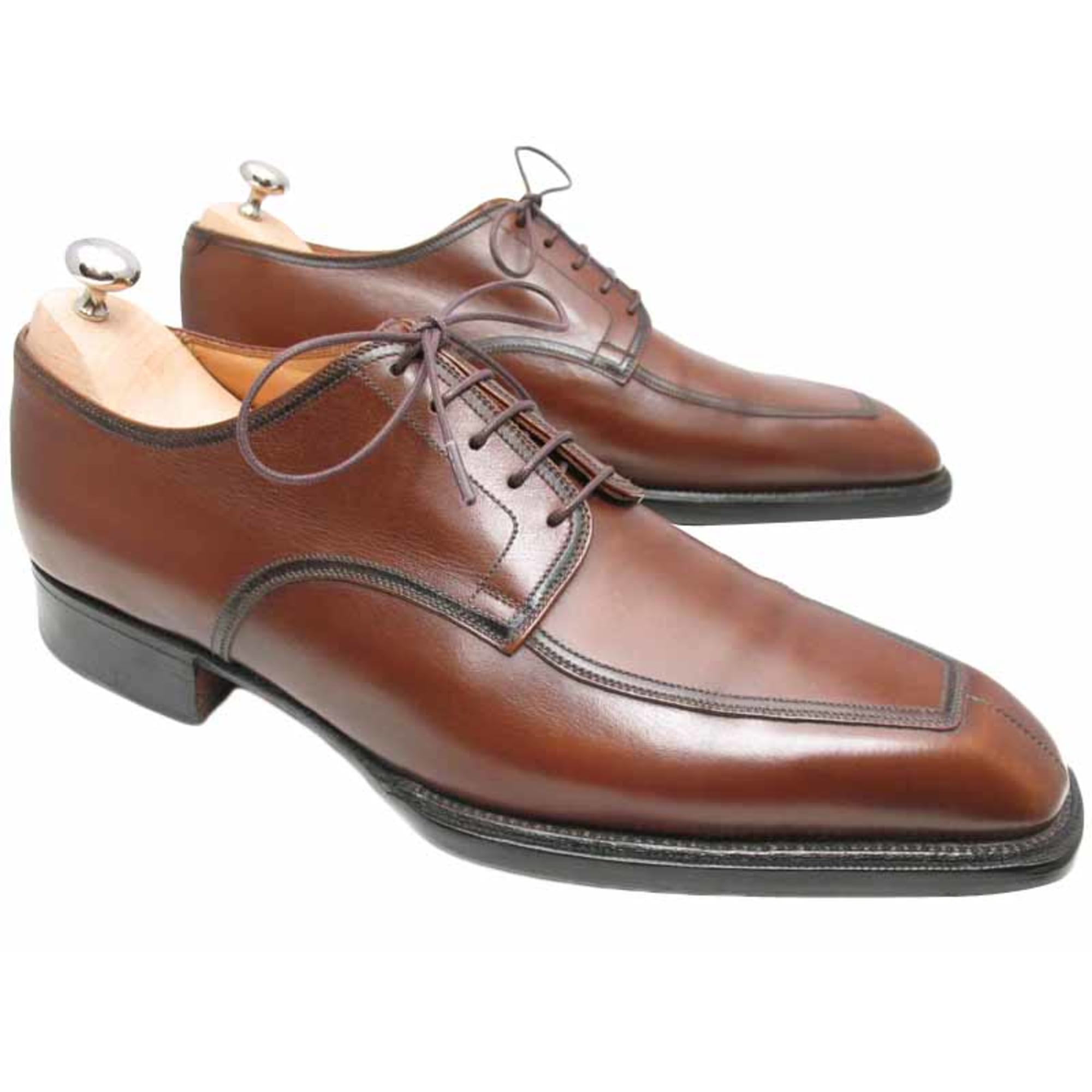 9df65a84f4 Chaussures à lacets JM WESTON 40,5 marron vendu par Carine ...