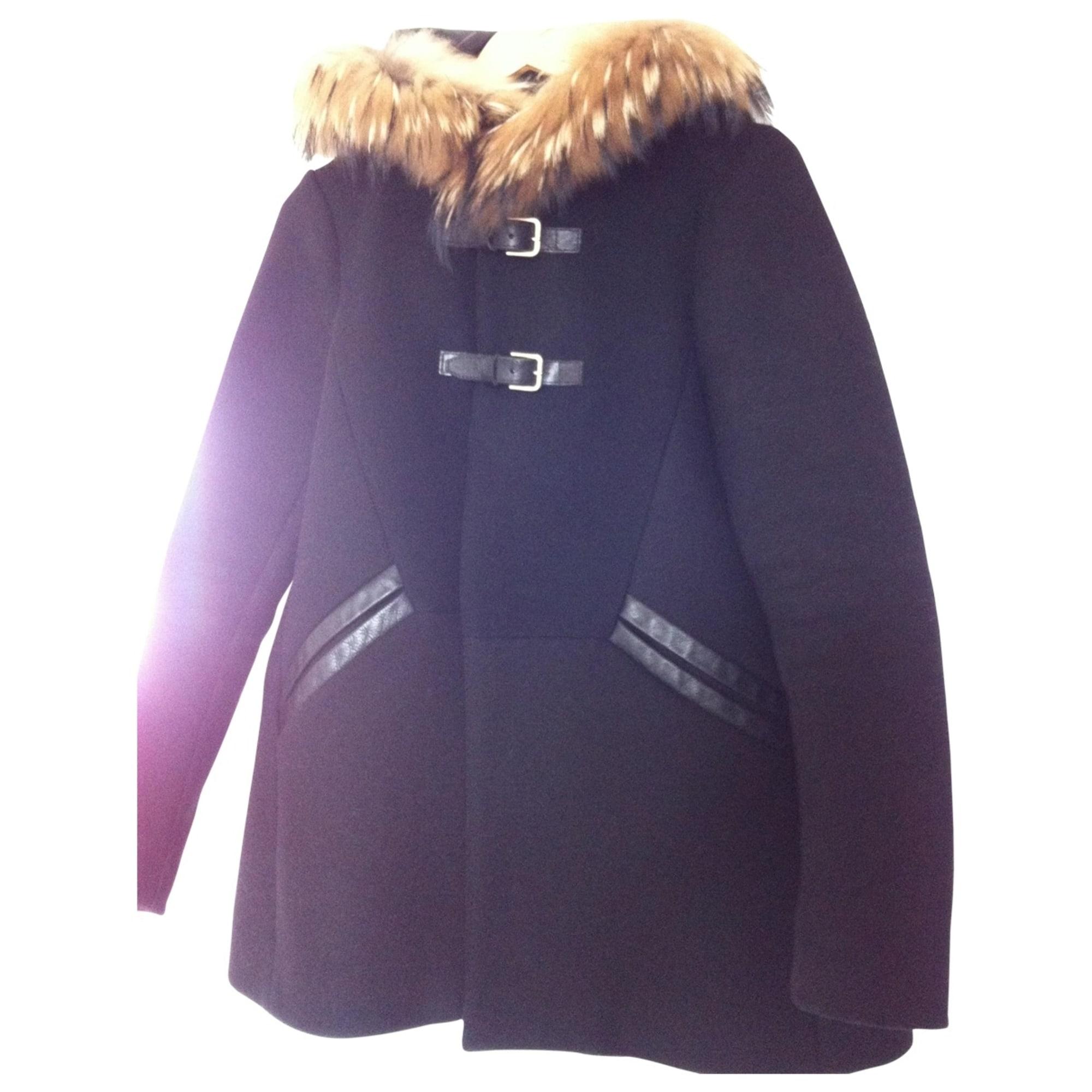 Maje Manteau coton 40 (L, T3)