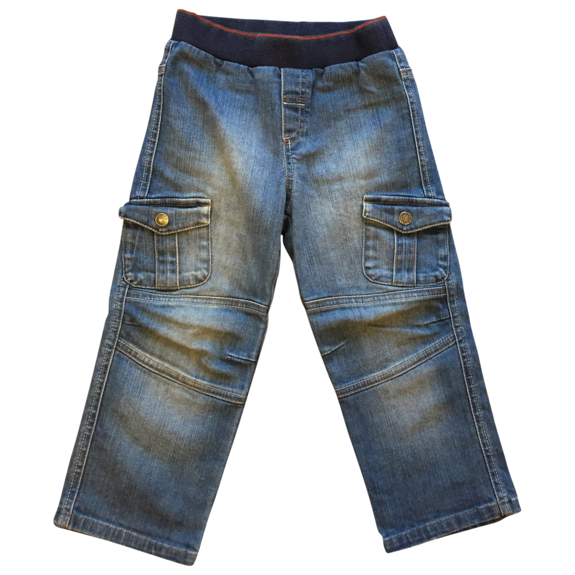 Straight Leg Jeans GUCCI Blue, navy, turquoise